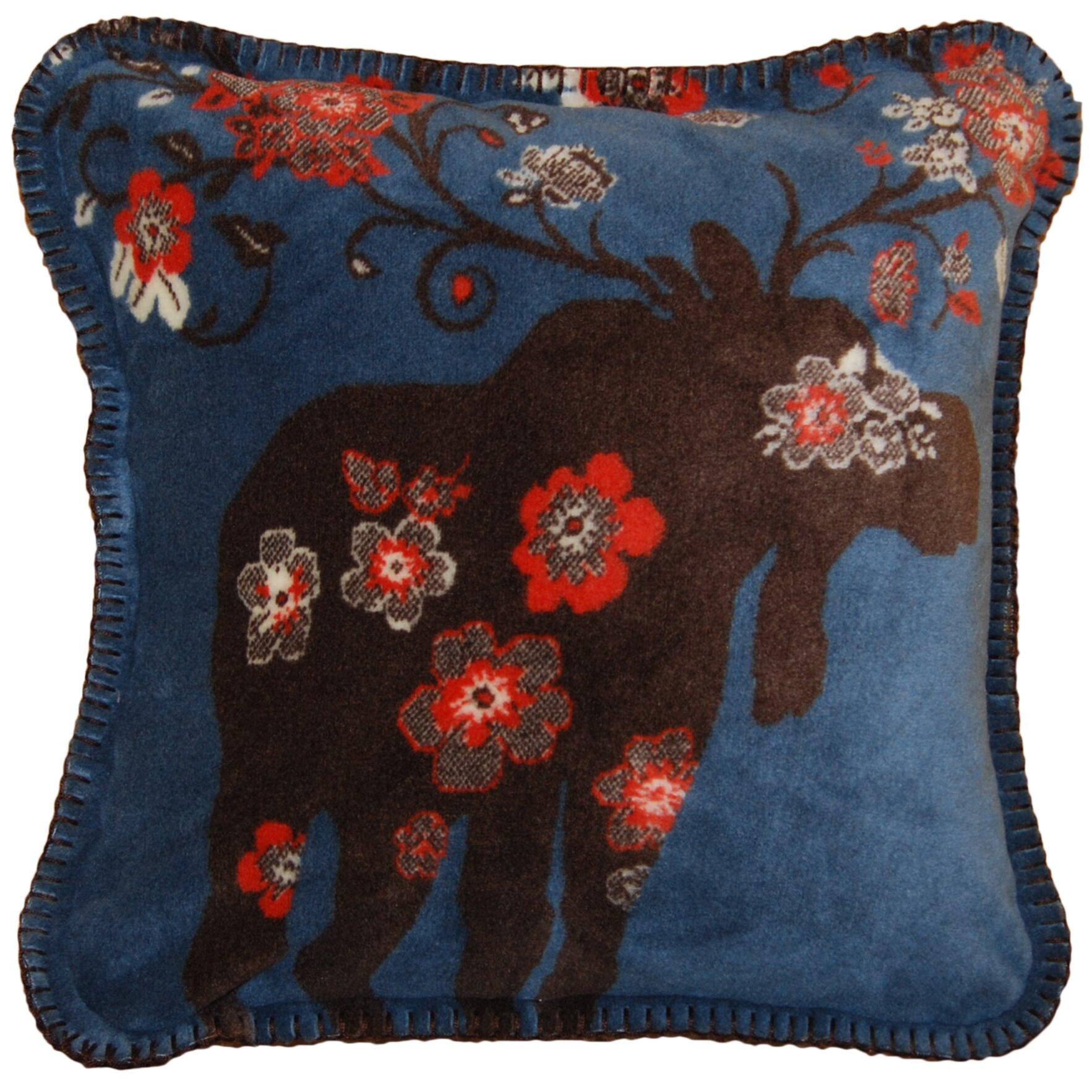 Kohls Moose Throw Pillow : Denali Moose Blossom Throw Pillow Wayfair