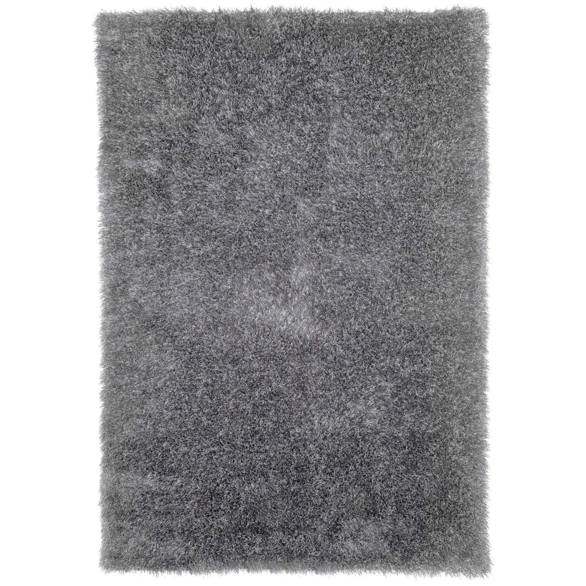 Lavish Home Gray Shag Area Rug Reviews Wayfair