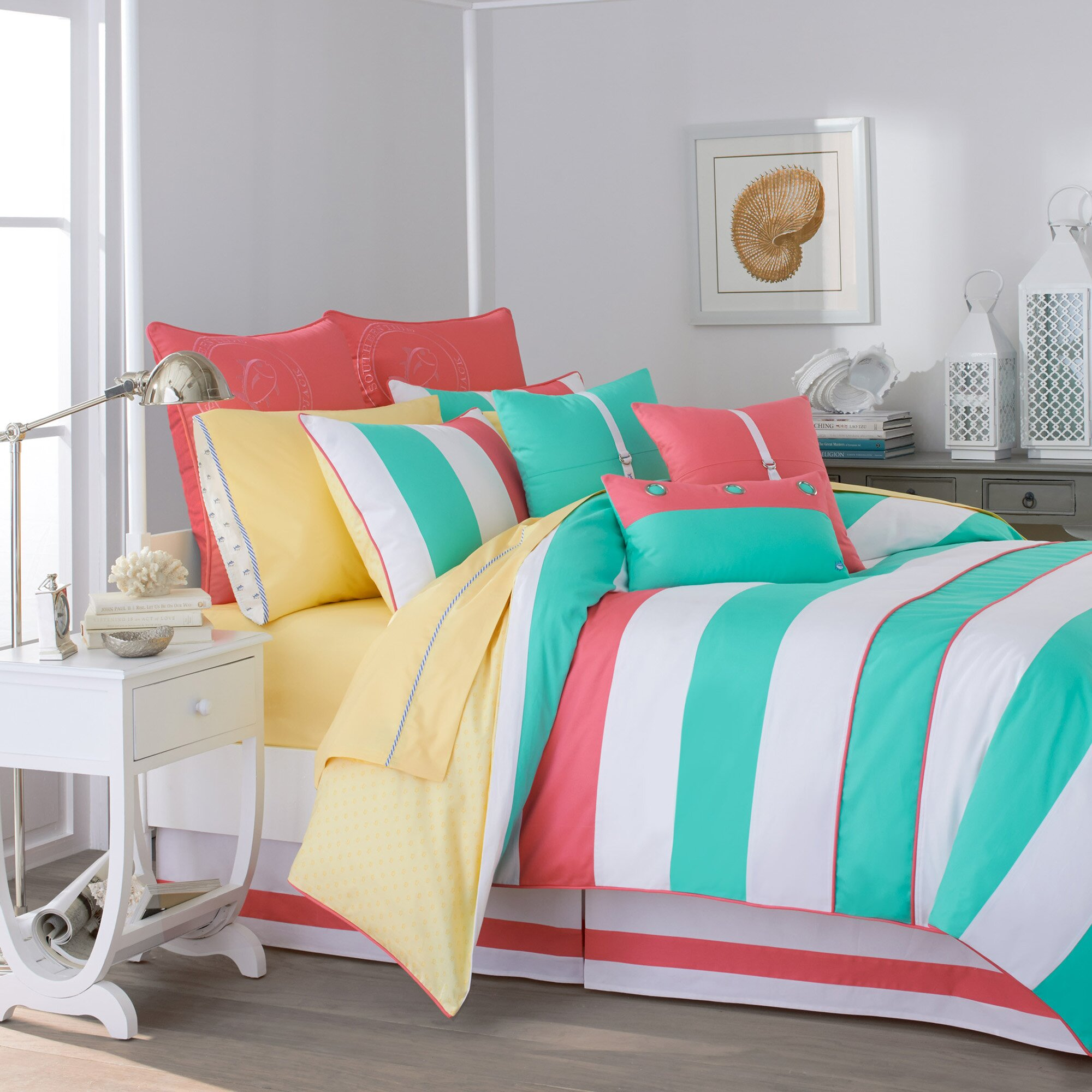 southern tide cabana stripe comforter collection reviews