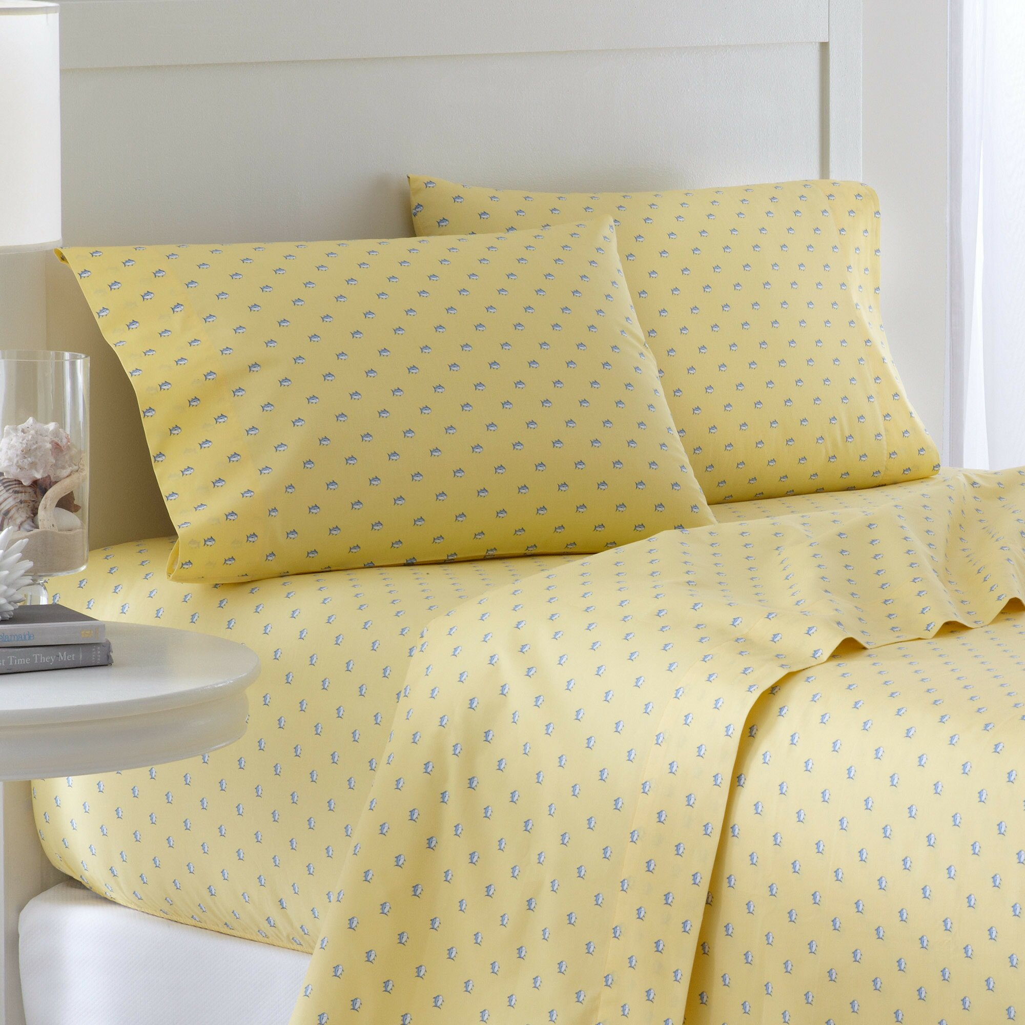 Southern tide the skipjack 200 thread count cotton printed for Southern tide bedding