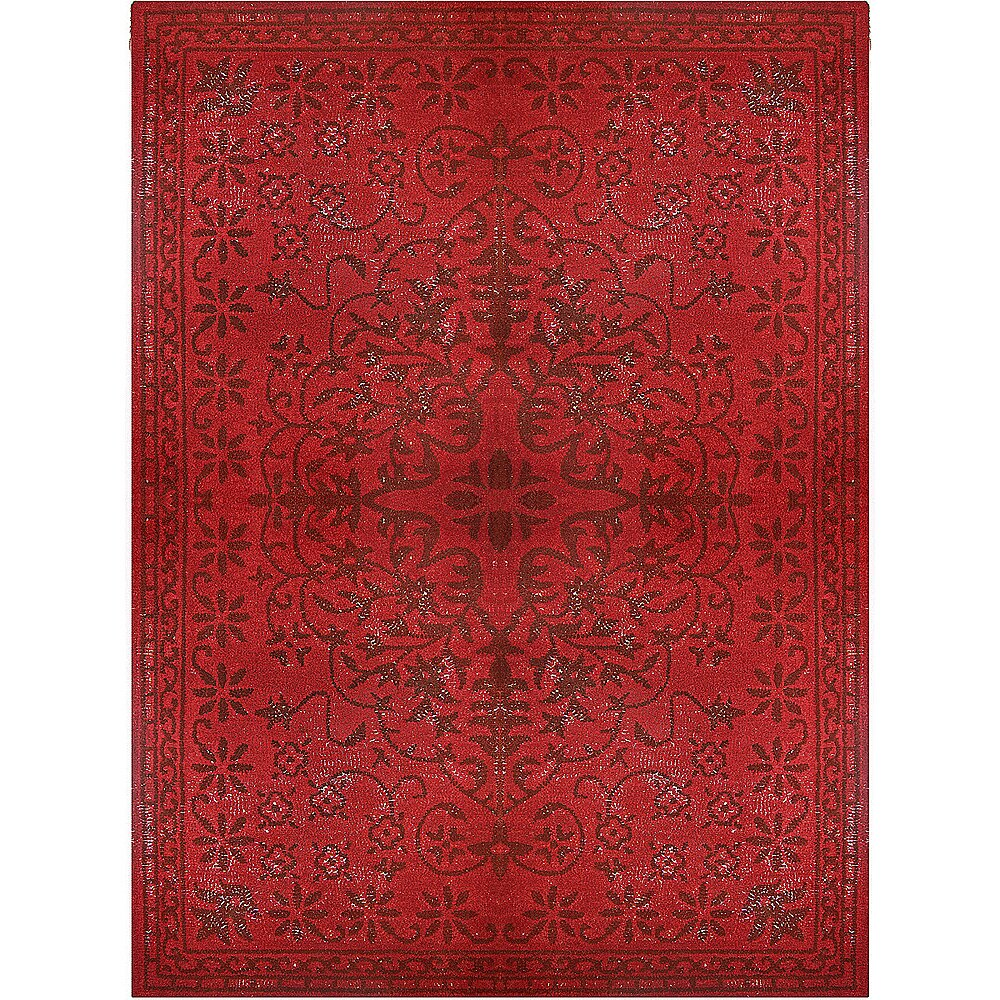 Rug Studio Epoch Vintage Wool Red Area Rug