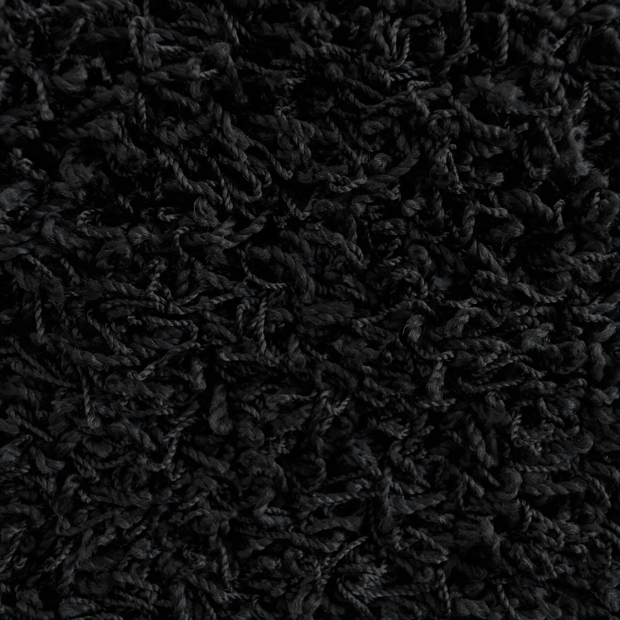 Rug Studio Modern Black Shag Area Rug Reviews