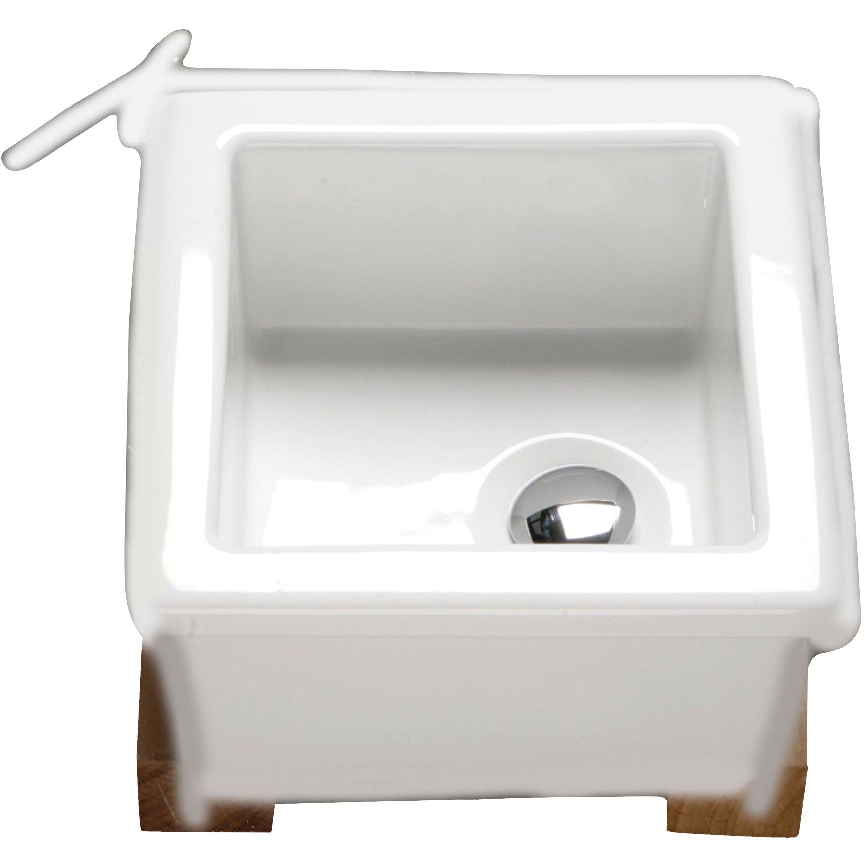 RAK Ceramics Kitchen Sinks 33cm Recessed Basin Wayfair UK