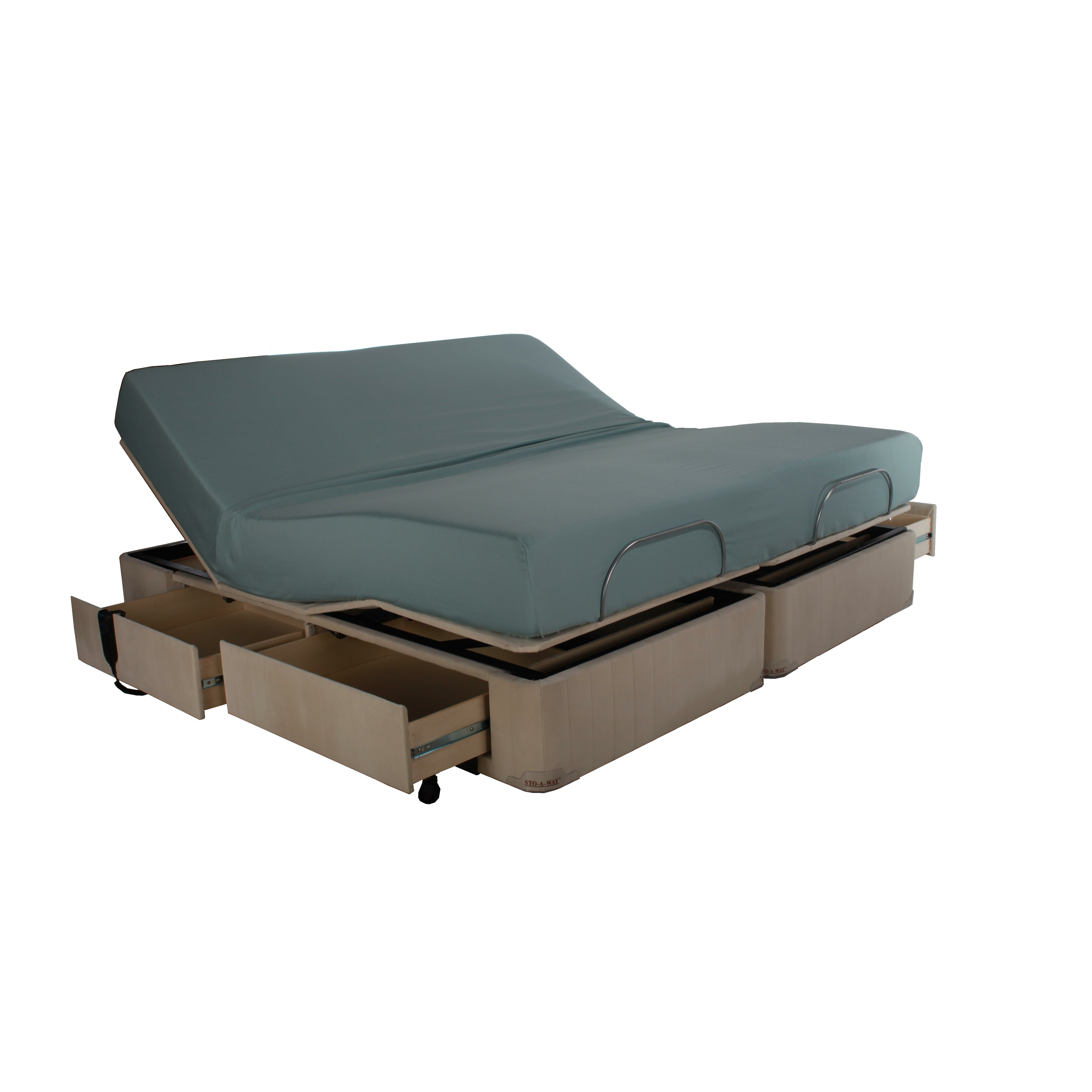 Adjustable Beds For Two : Seahawk designs full electric sto a way plus adjustable
