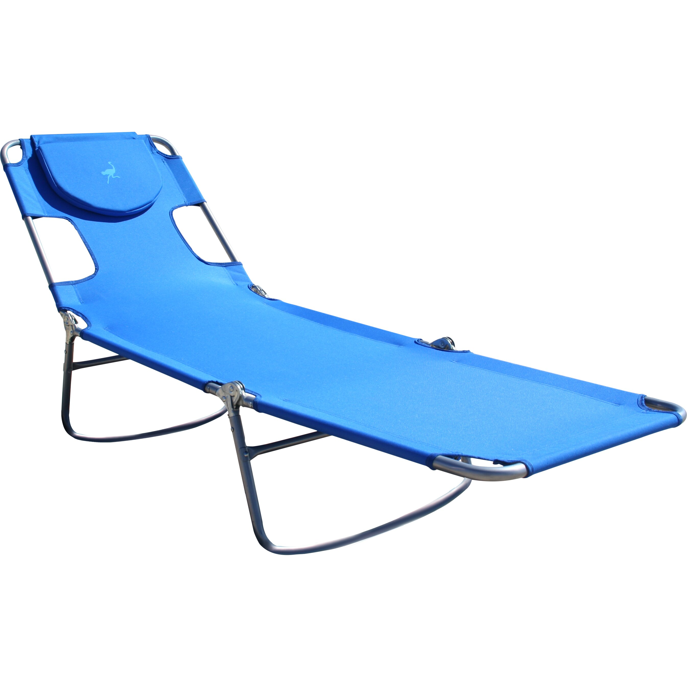 Ostrich Chair Folding Chaise Lounge & Reviews