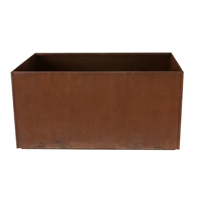 Nice planter rectangular planter box reviews wayfair for Wayfair garden box
