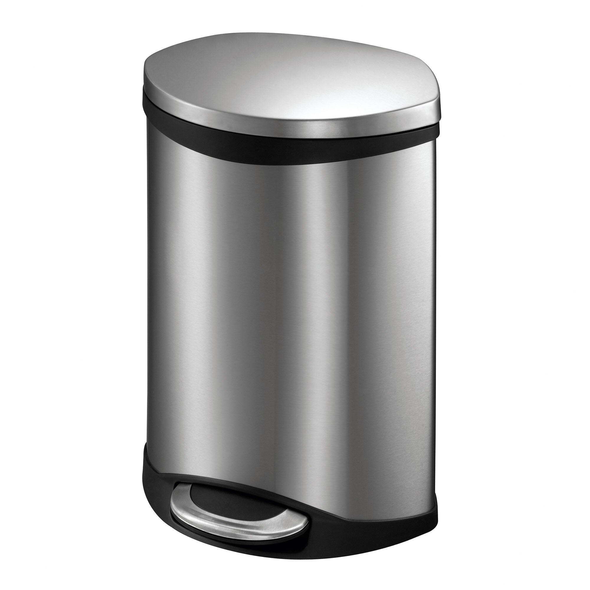 Eko Hands Free Shell Wastebasket Amp Reviews Wayfair