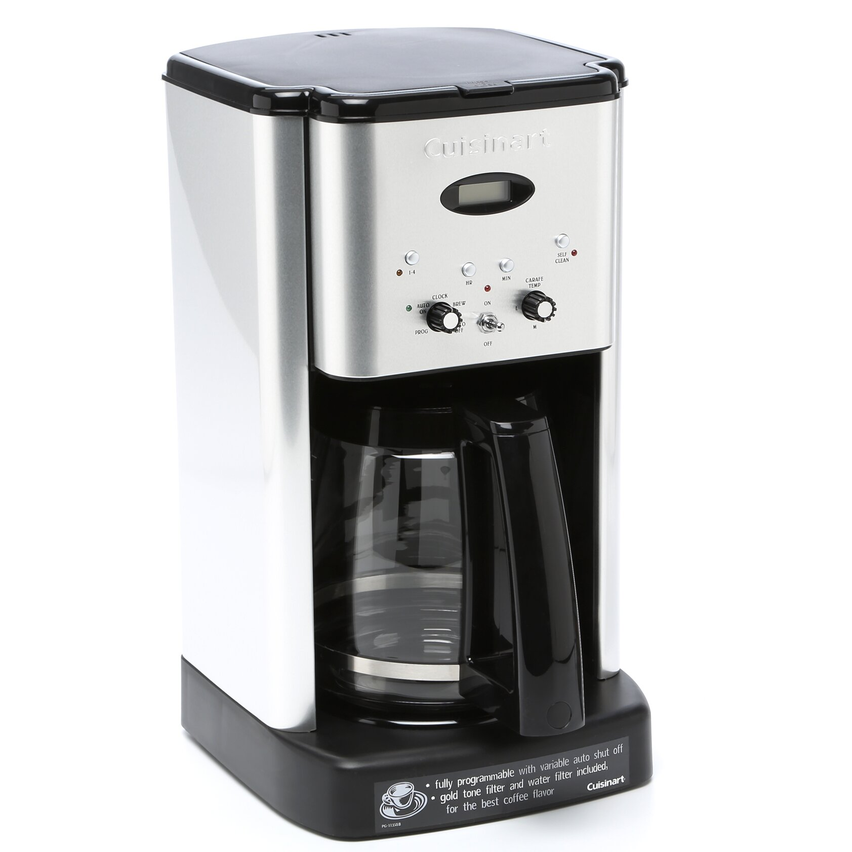Cuisinart Coffee Maker Fire : Cuisinart 12 Cup Brew Central Programmable Coffee Maker & Reviews Wayfair