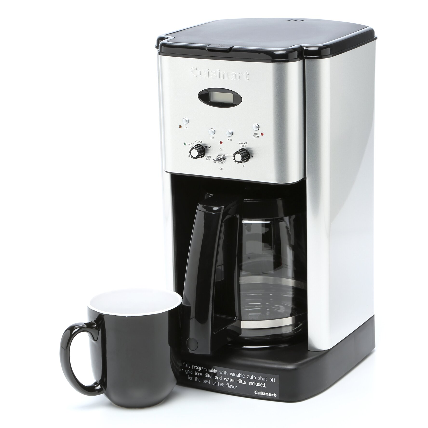 Cuisinart 12 Cup Brew Central Programmable Coffee Maker
