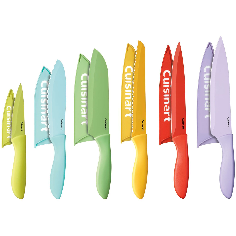 cuisinart 12 piece advantage coated knife set reviews