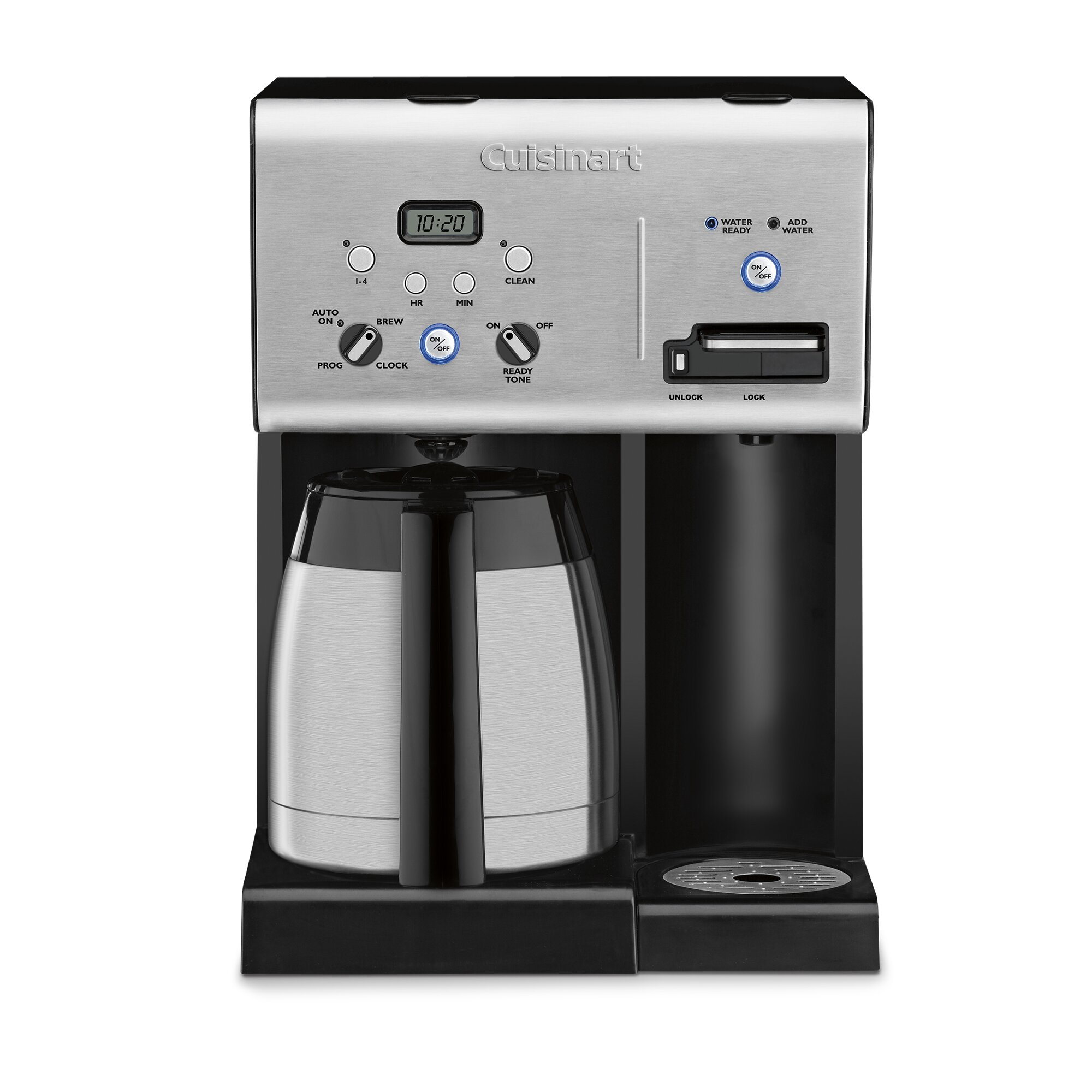 programmable coffee maker cuisinart 10 cup thermal programmable coffee maker 12717