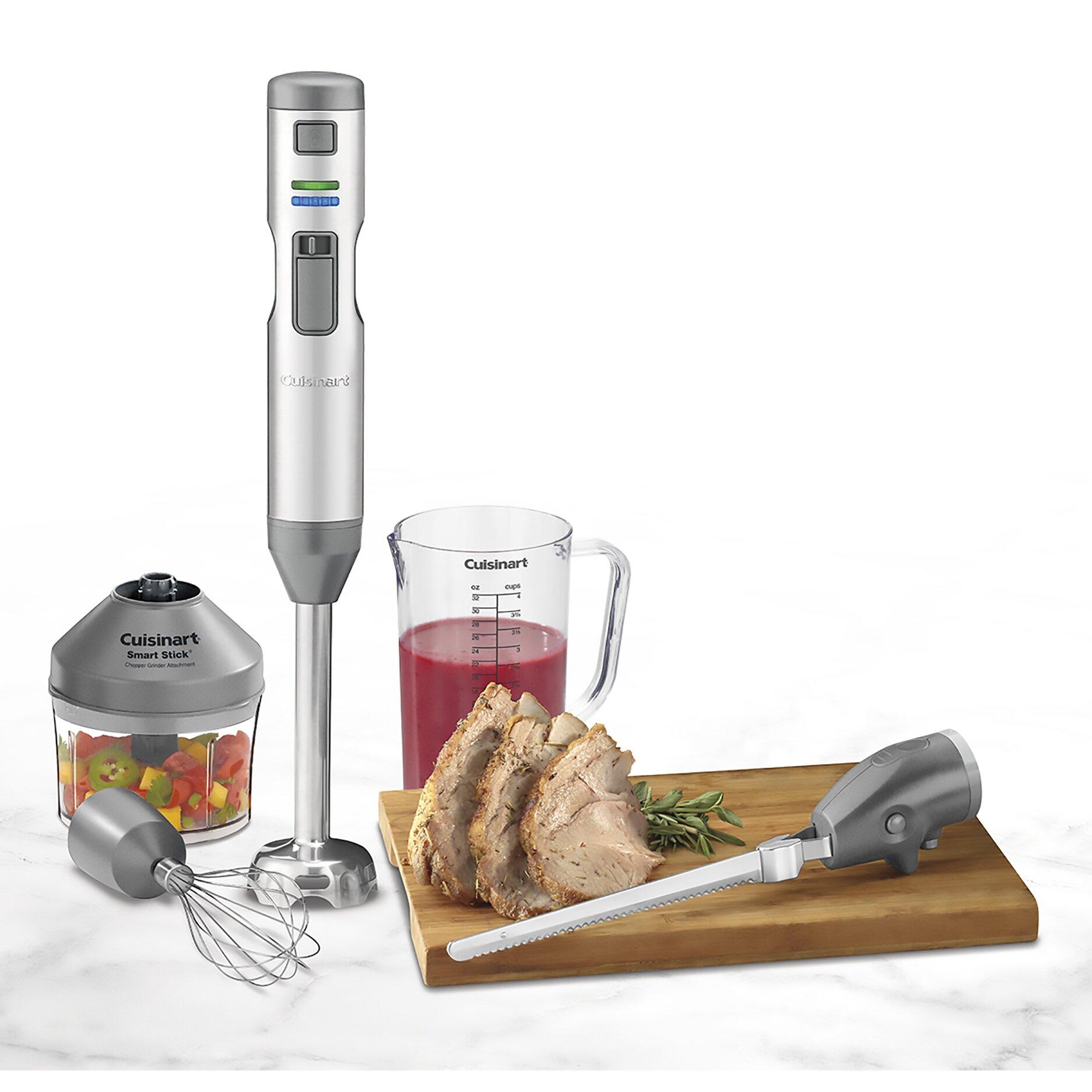 Walmart Stick Blender ~ Cuisinart smart stick piece cordless hand blender set