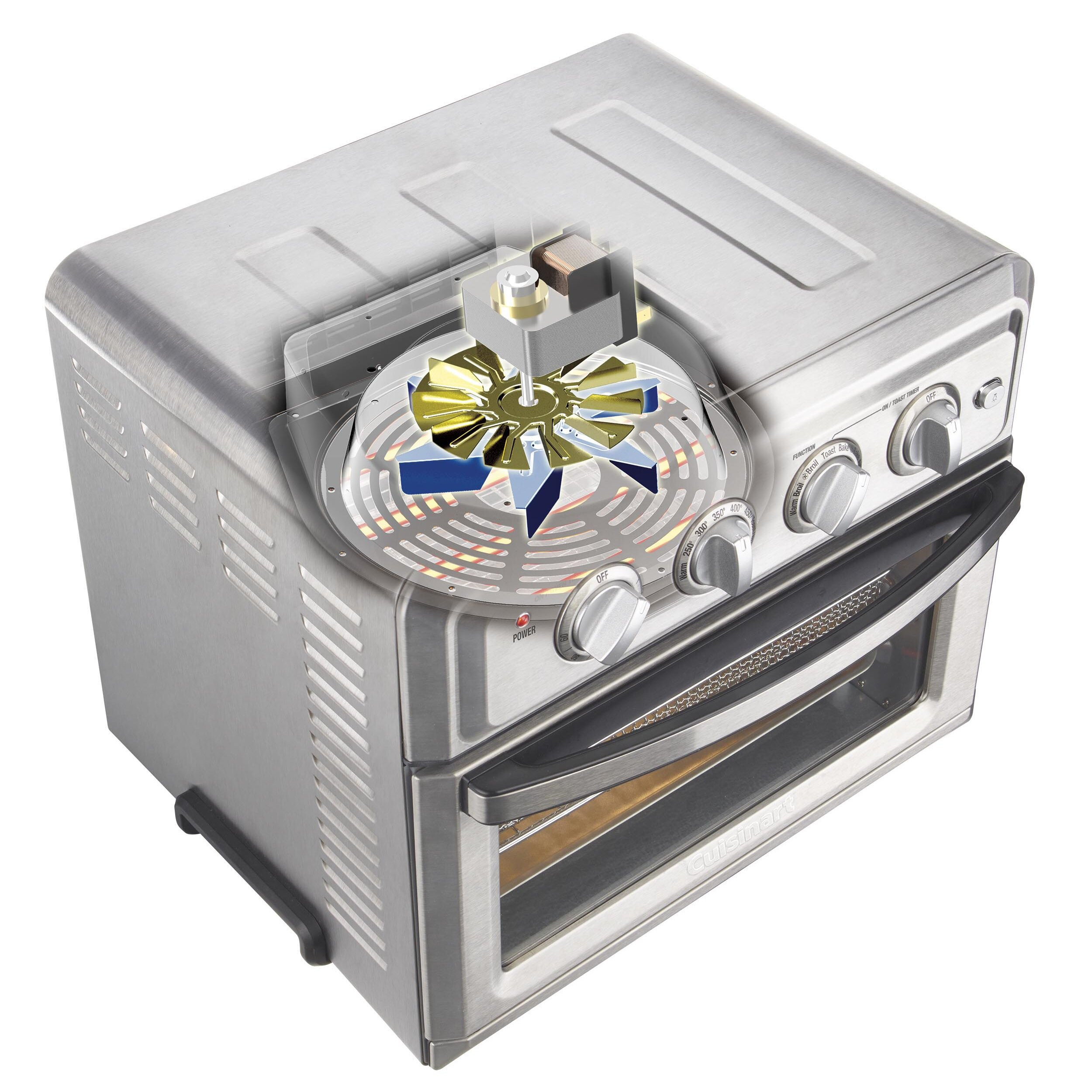 Cuisinart 0.6 Cu. ft. Air Fryer Toaster Oven | Wayfair