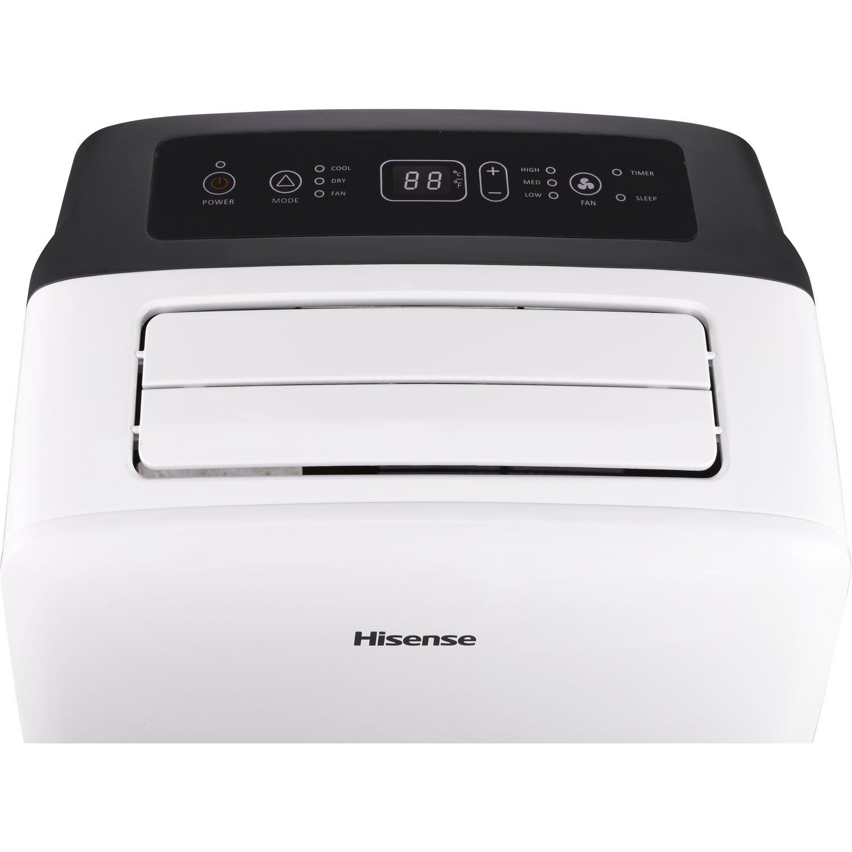 HiSense 10000 BTU Portable Air Conditioner with Remote & Reviews  #665F6C