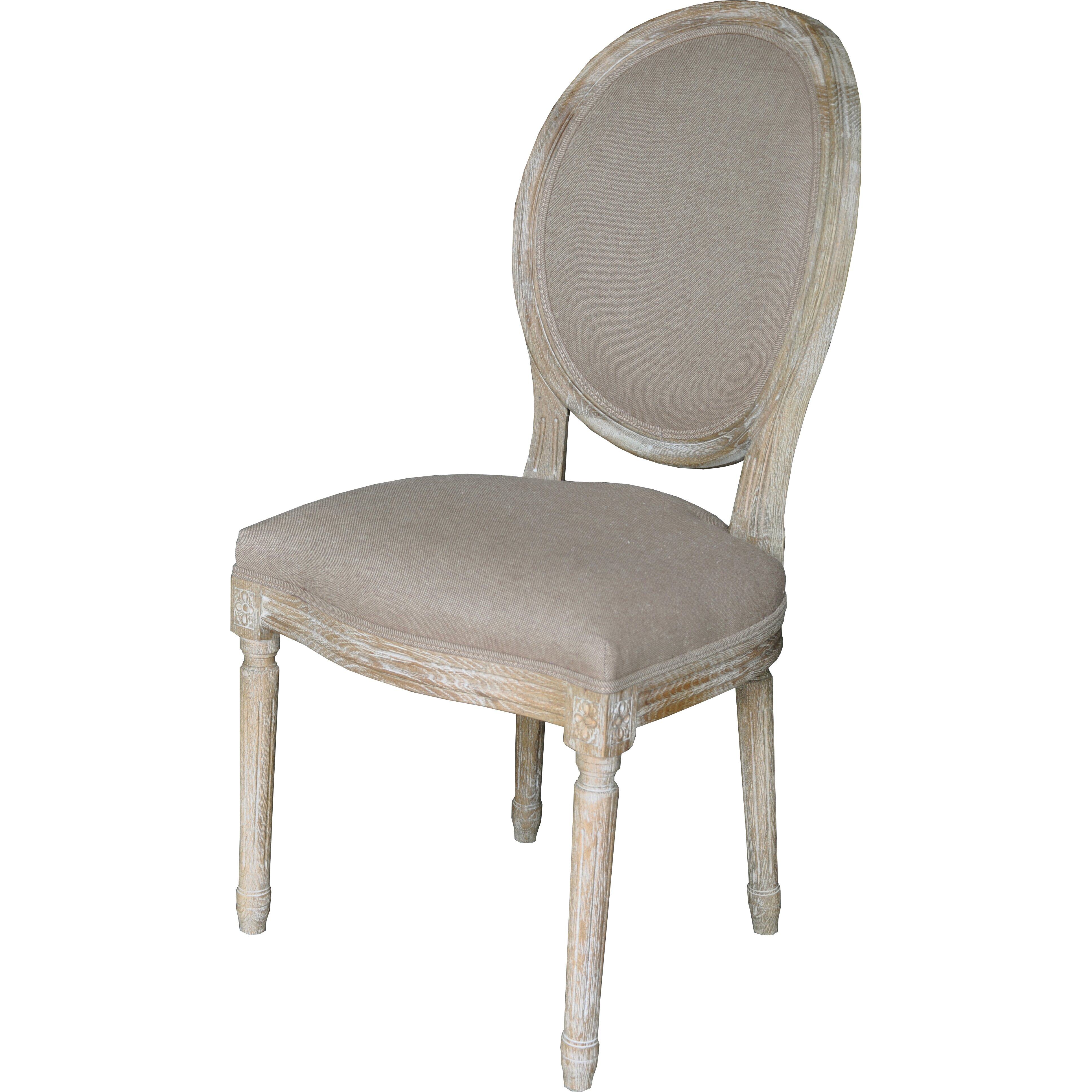 The bella collection louis side chair wayfair - Louis th chairs ...