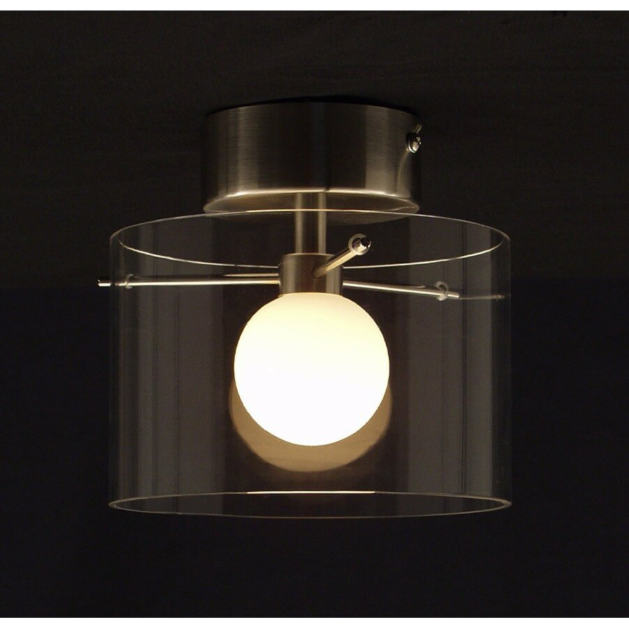 Aromas Del Campo Moon 1 Light Semi Flush Light Amp Reviews