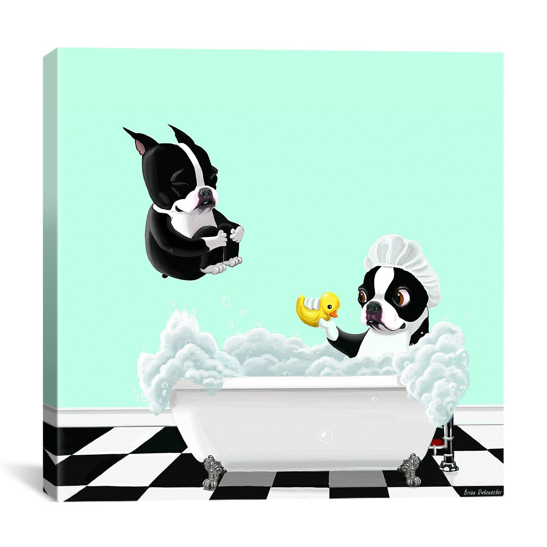 ICanvas 'Bath Tub BT' By Brian Rubenacker Graphic Art On