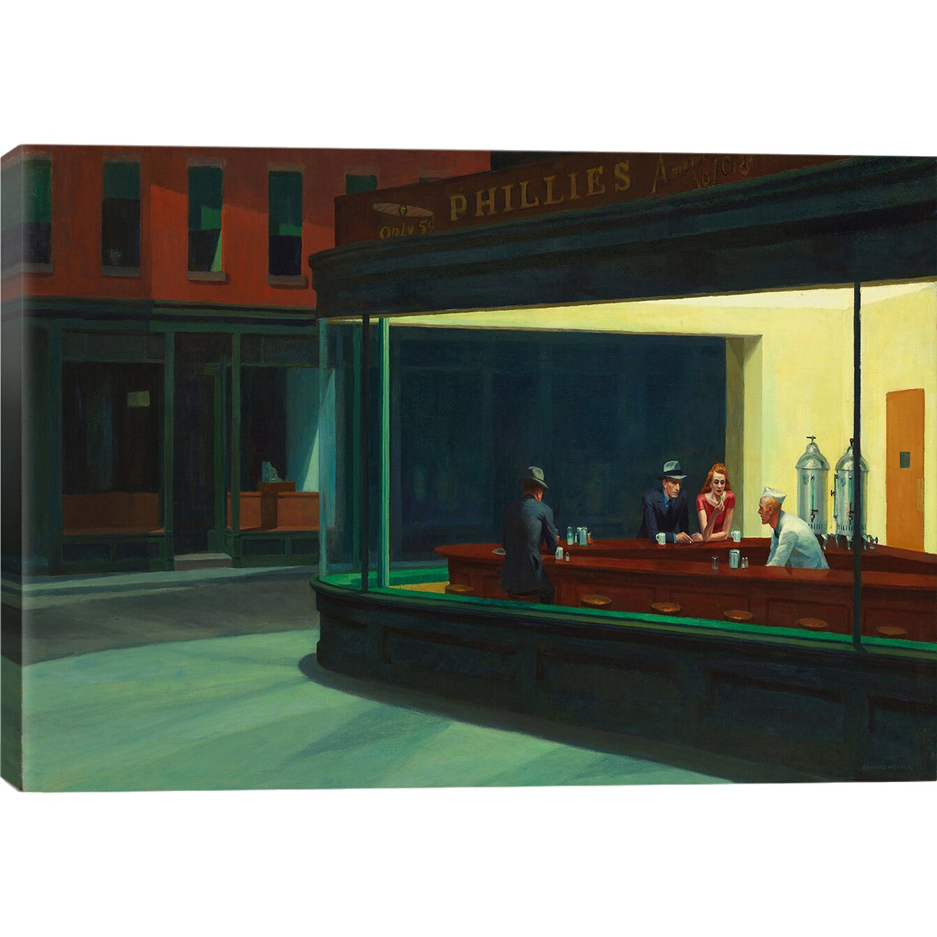 Edward Hopper Nighthawks Paintings For Sale