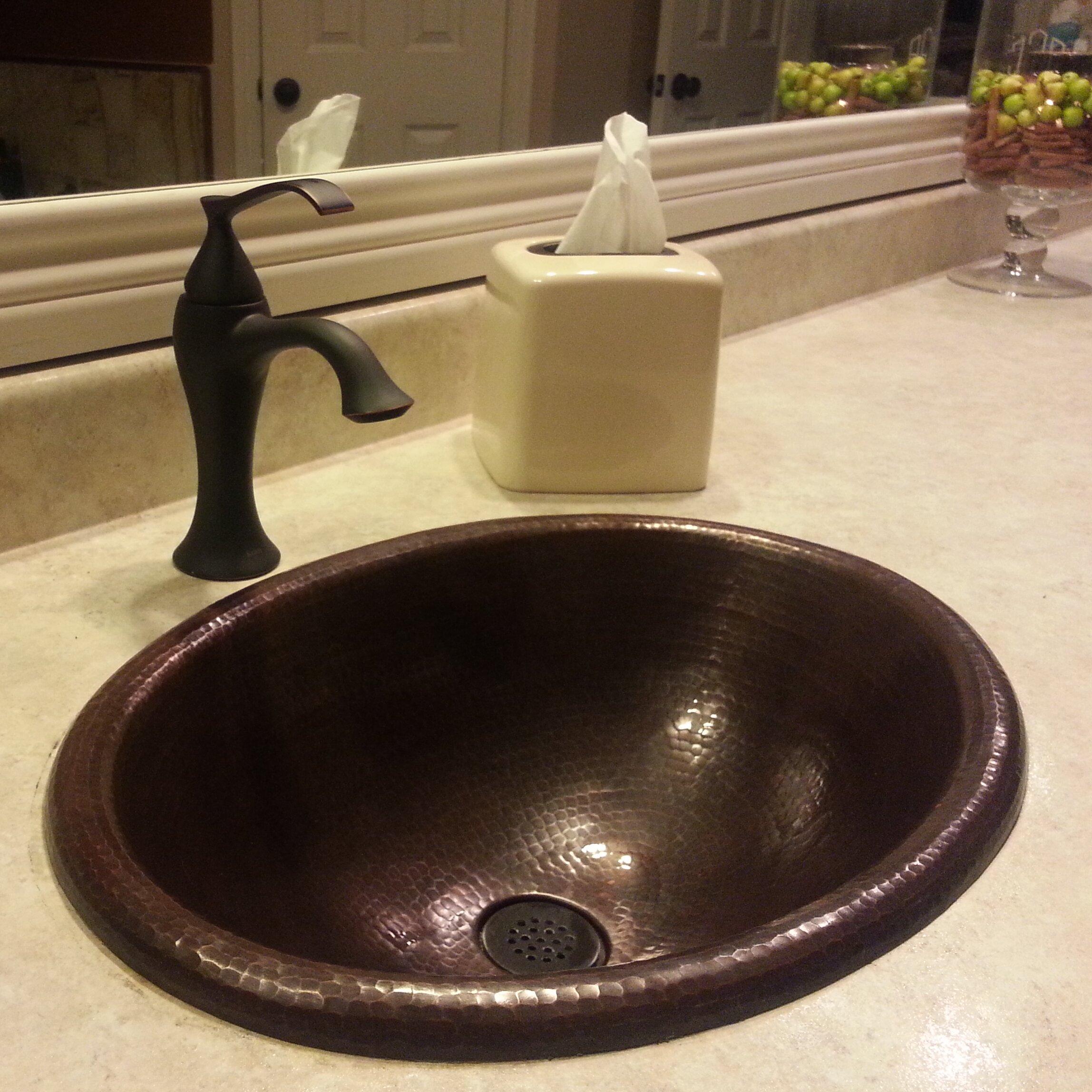 Novatto Cordoba Drop In Copper Bathroom Sink Reviews