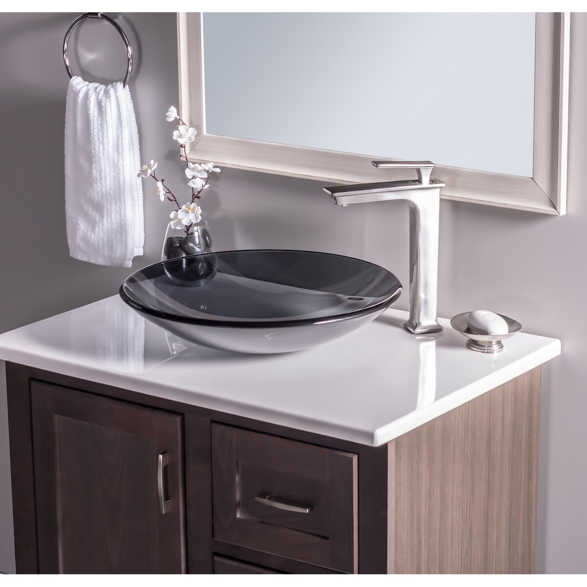 Novatto low profile glass vessel bathroom sink reviews for Low height bathtub