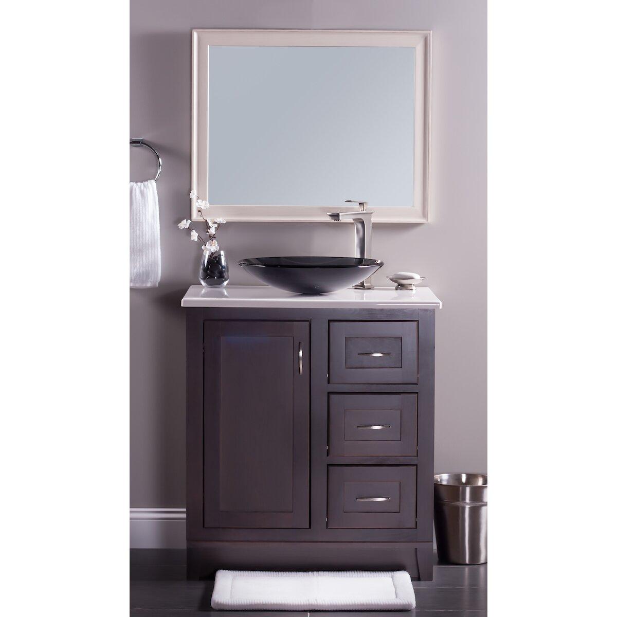 novatto low profile glass vessel bathroom sink reviews