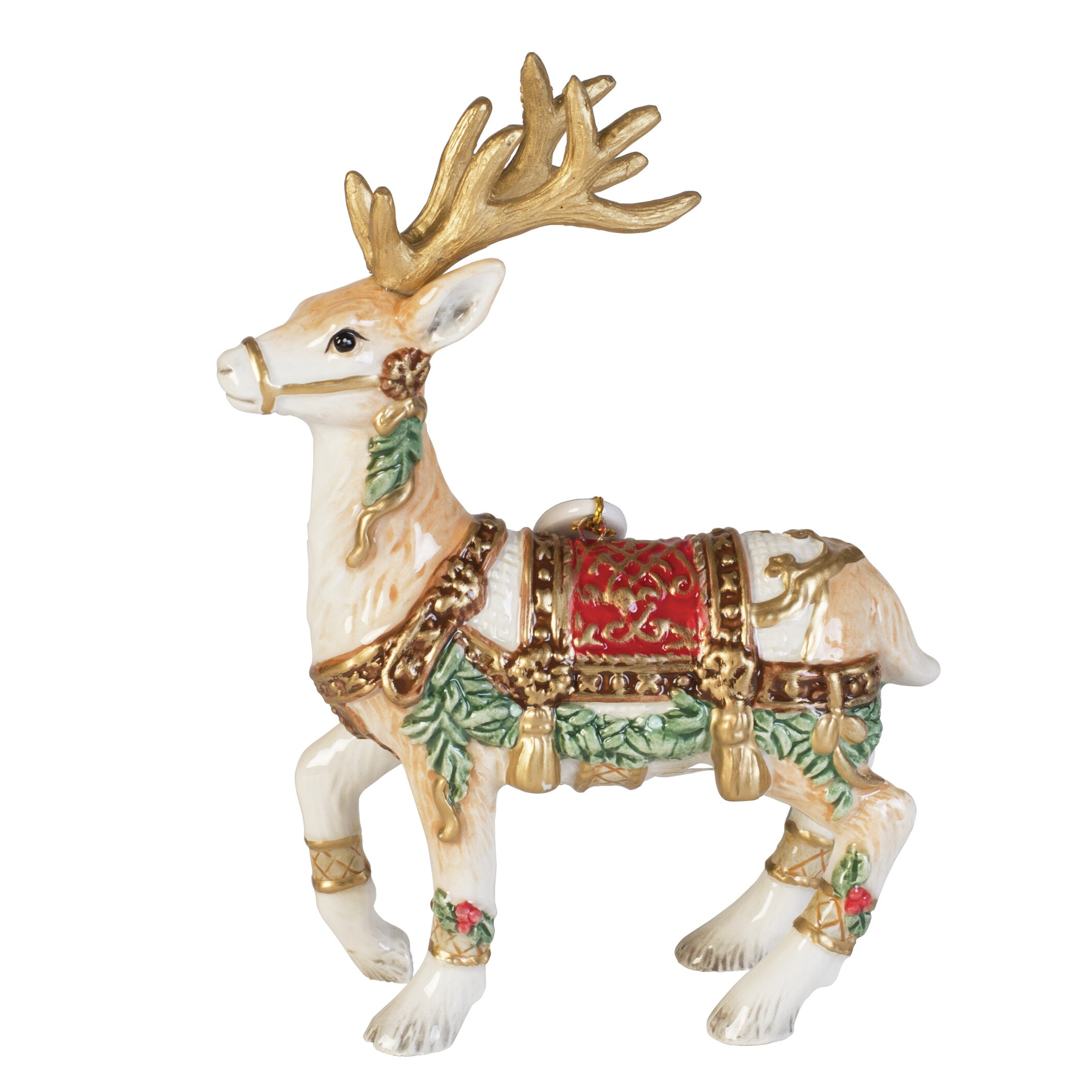Fitz And Floyd Yuletide Holiday 2016 Dated Figurine