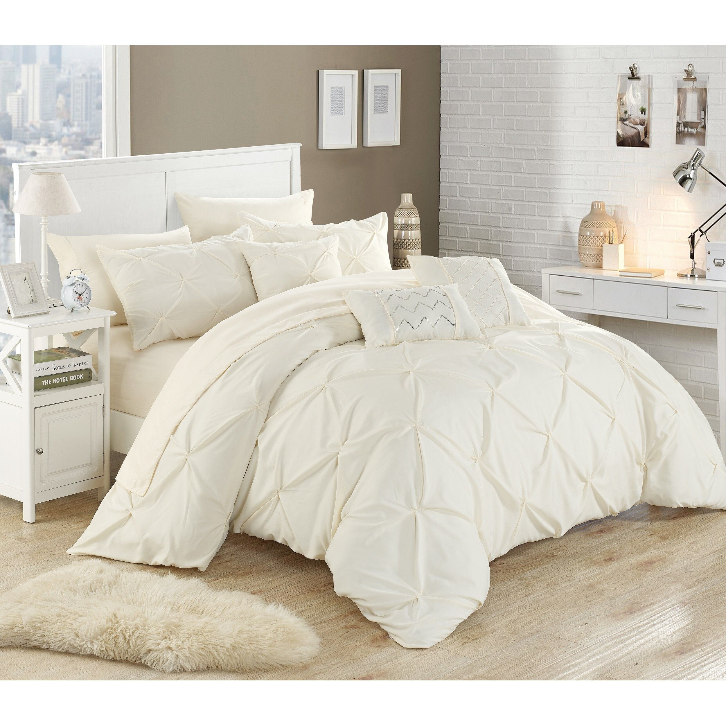 Chic Home Hannah 10 Piece forter Set & Reviews