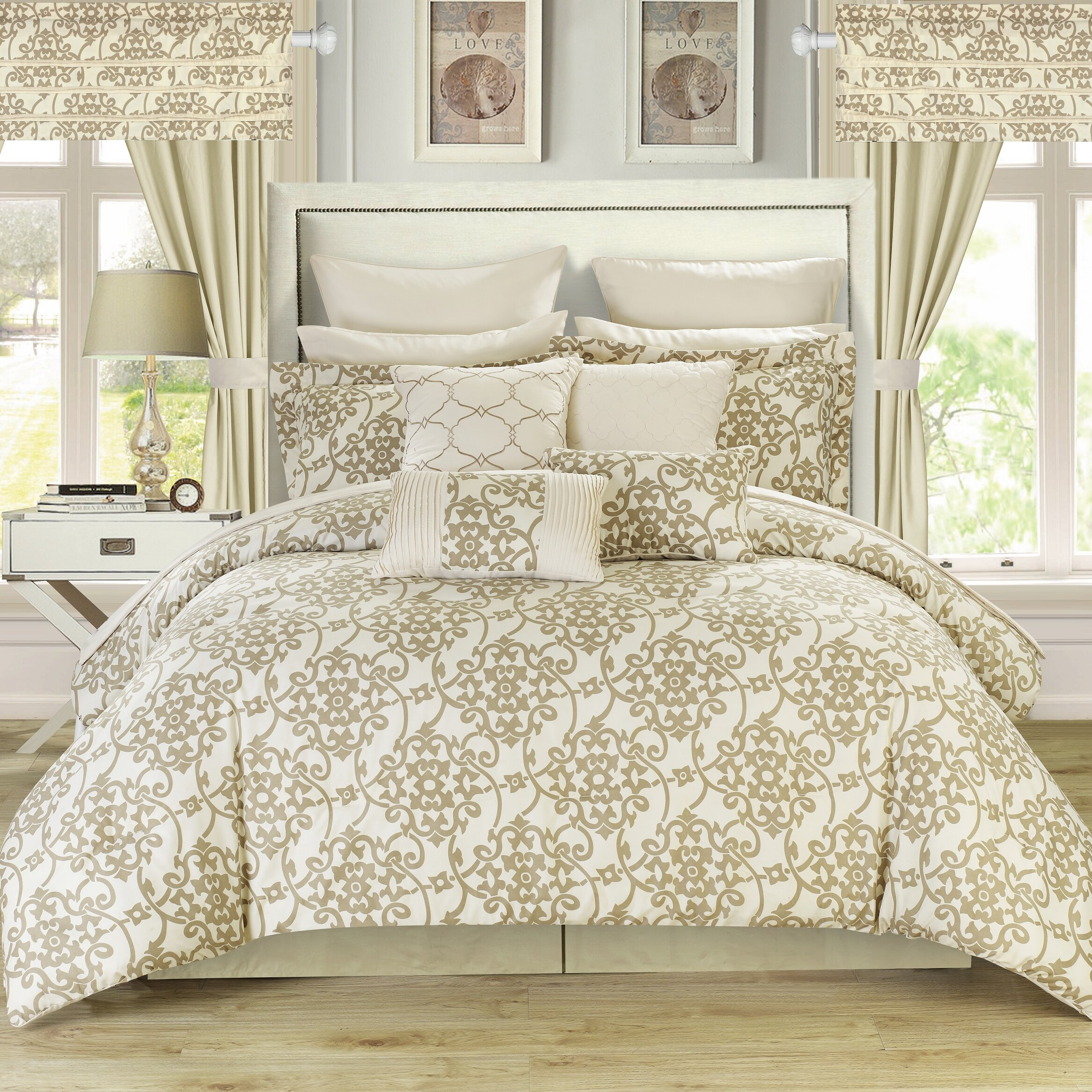 Comforter sets in queen, king and other mattress sizes can give your room a fresh look with one simple change. At Sears, you can find a broad range of comforter .