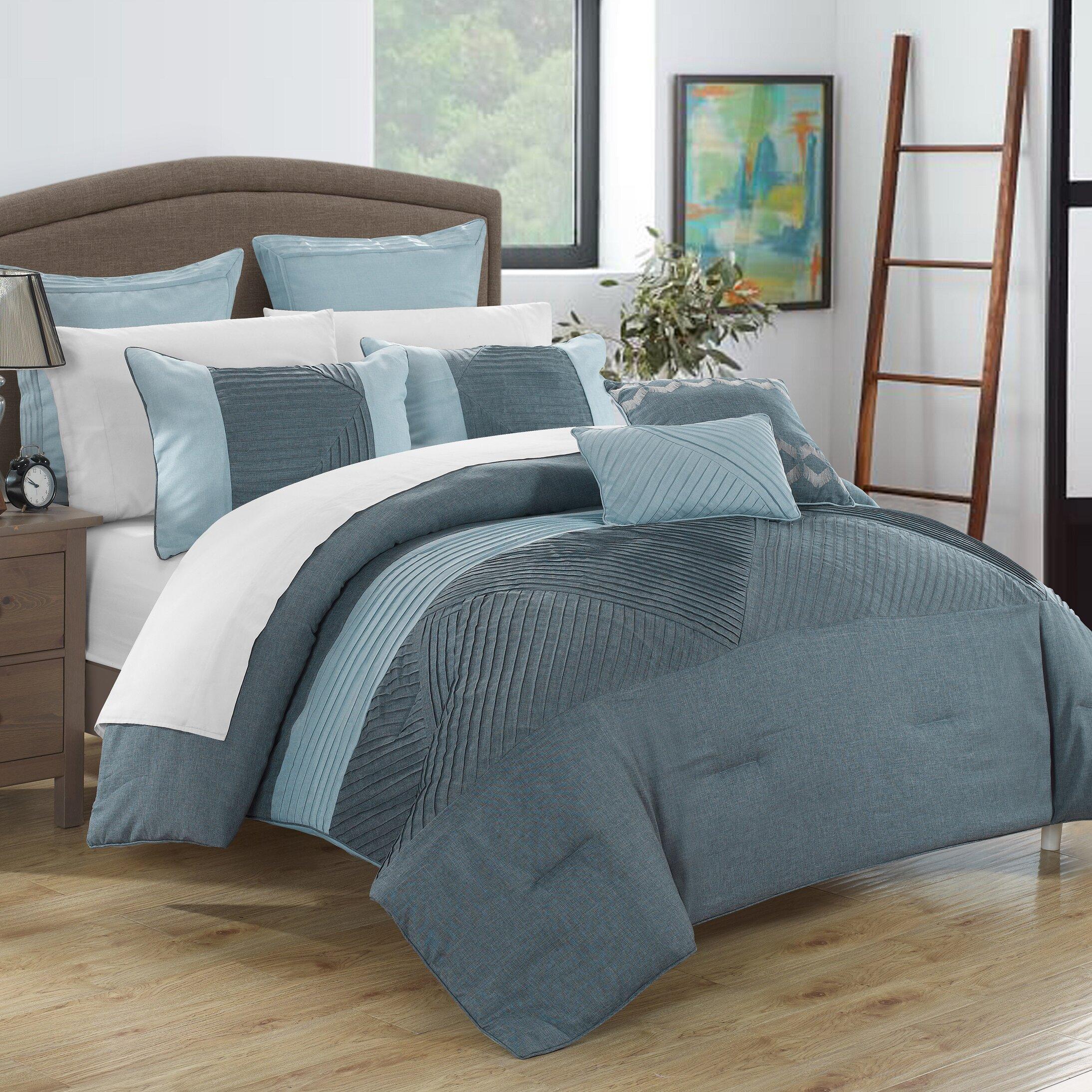 chic home marbella 11 piece comforter set  reviews  wayfair