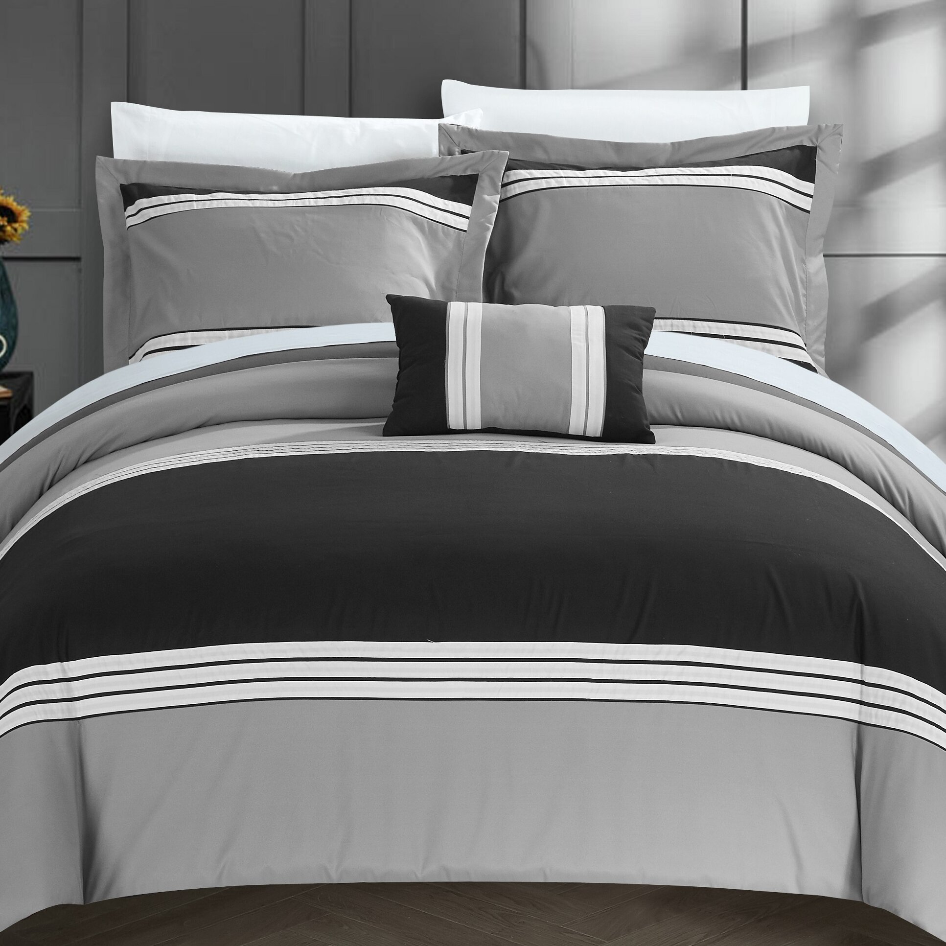 Reviews On Hotel Collection Bedding: Chic Home Madison Hotel Duvet Cover Set & Reviews