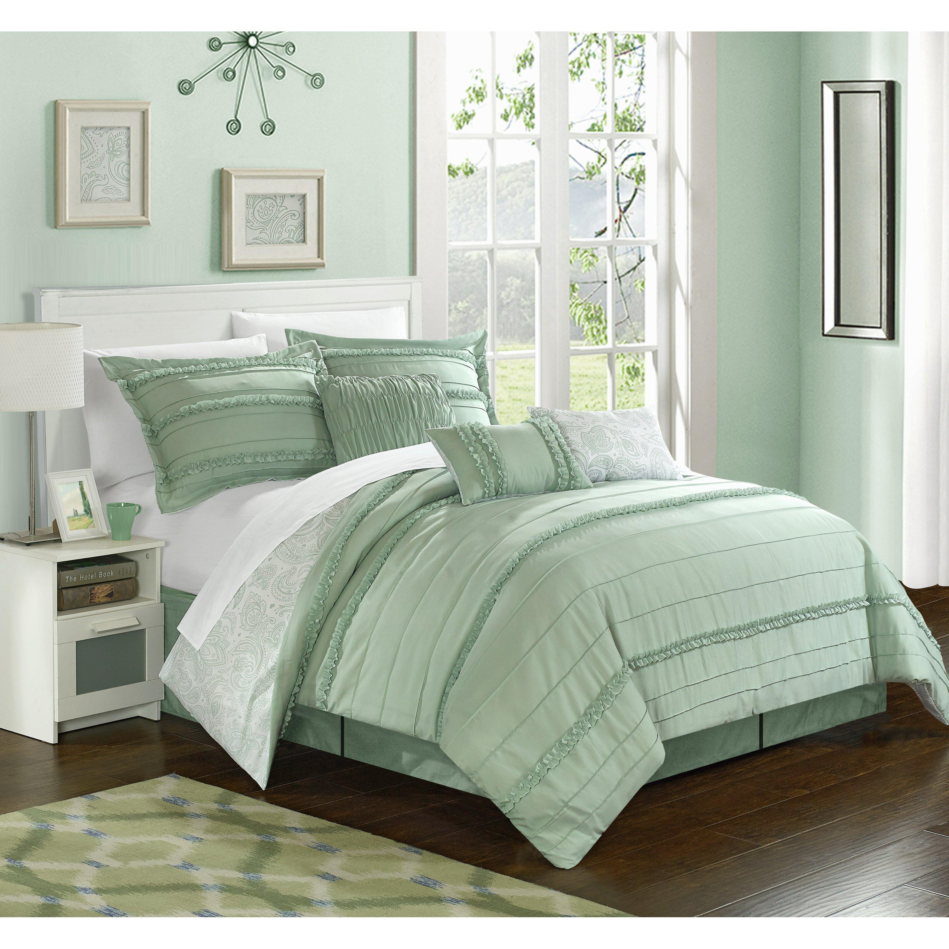 Chic Home Elle Reversible Comforter Set Amp Reviews Wayfair Ca