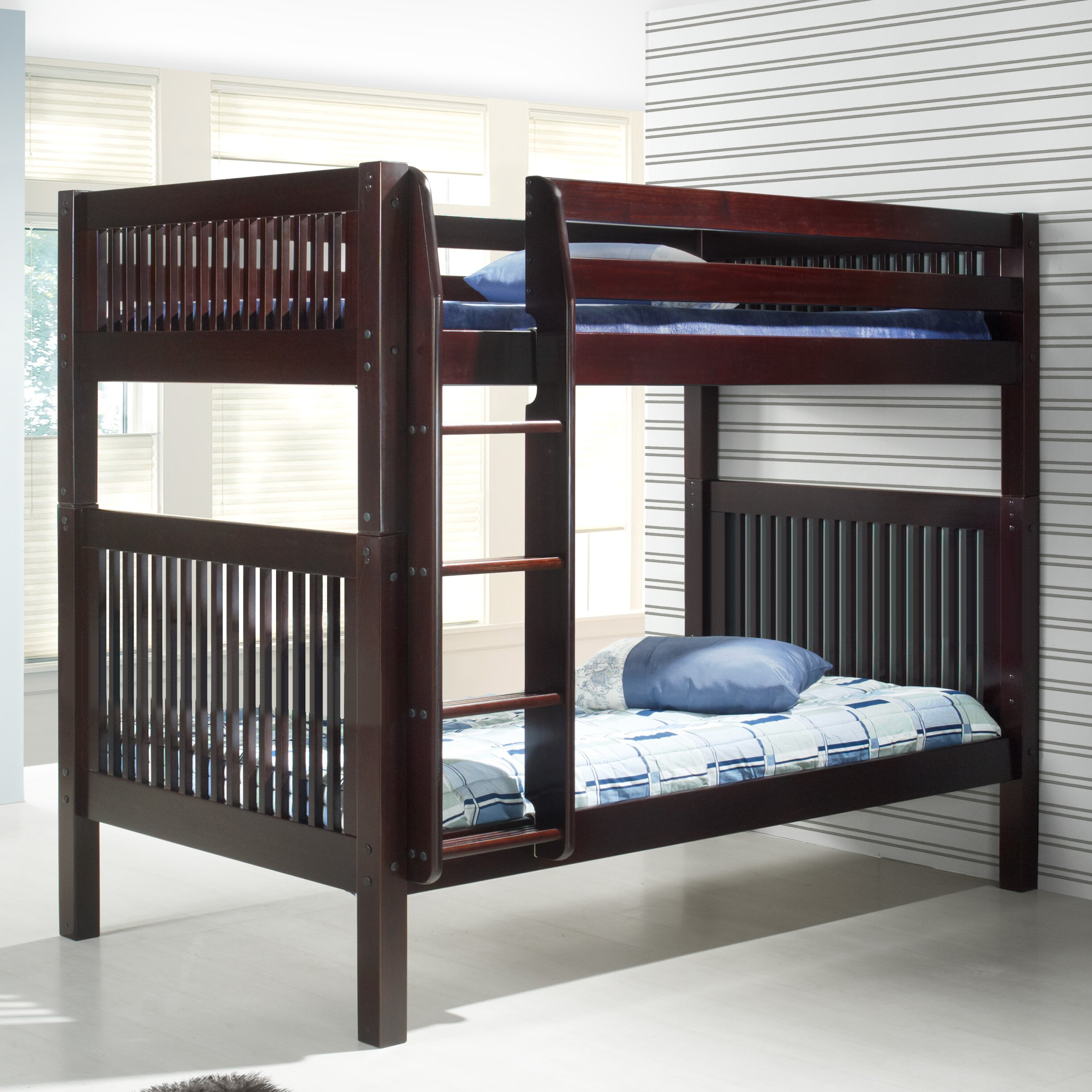Camaflexi Full Over Full Bunk Bed Amp Reviews Wayfair