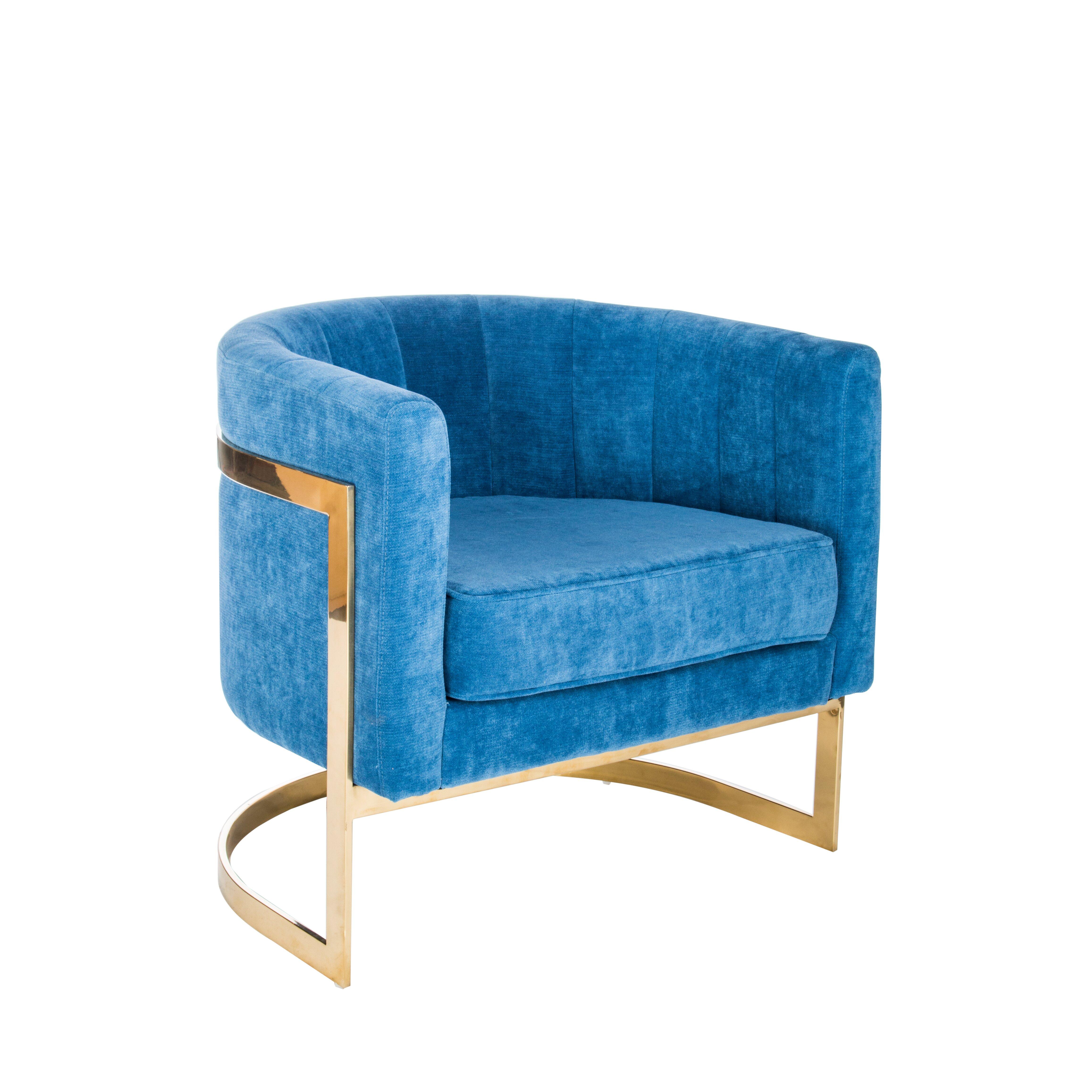 Statements By J Mica Modern Barrel Chair Wayfair