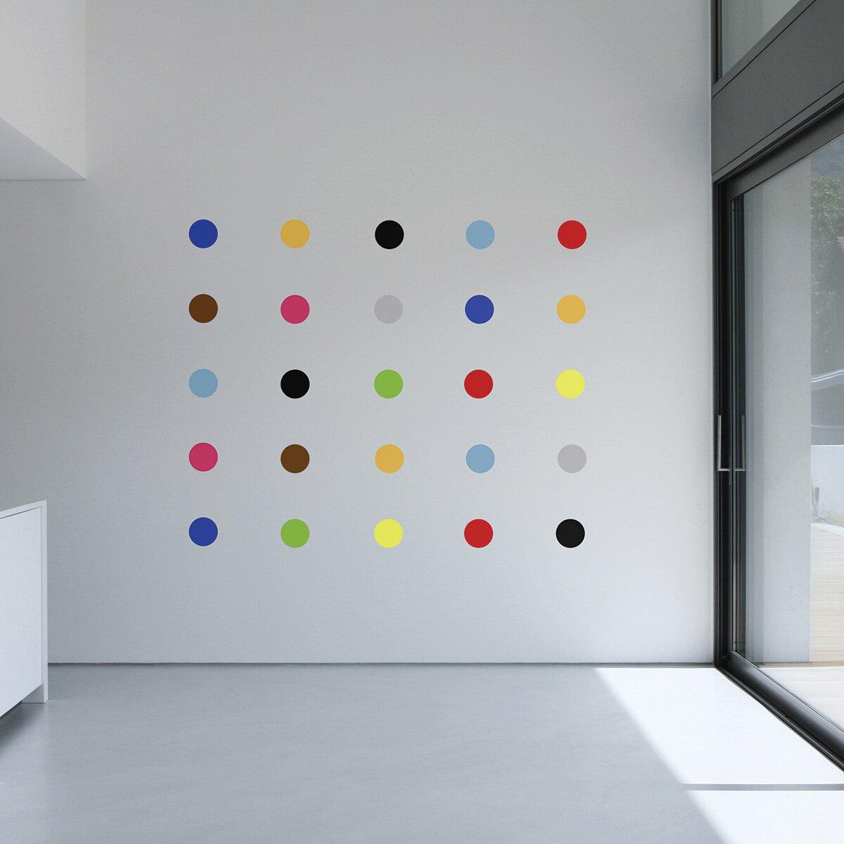 The Binary Box Art Deco Spots Wall Stickers Reviews