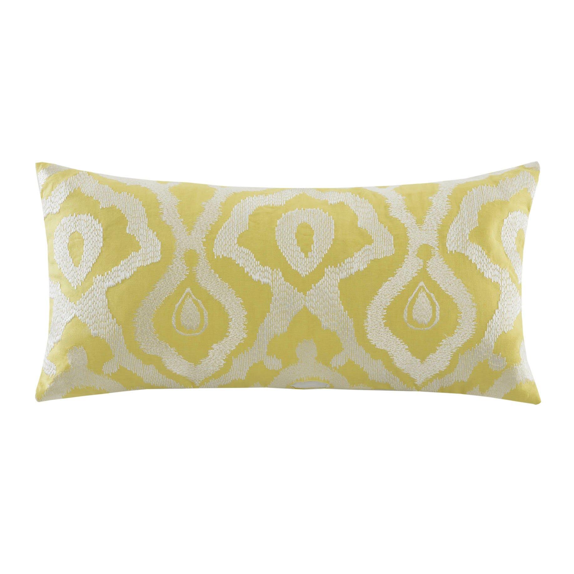 Decorative Pillows To The Trade : echo design Indira Oblong Cotton Throw Pillow & Reviews Wayfair