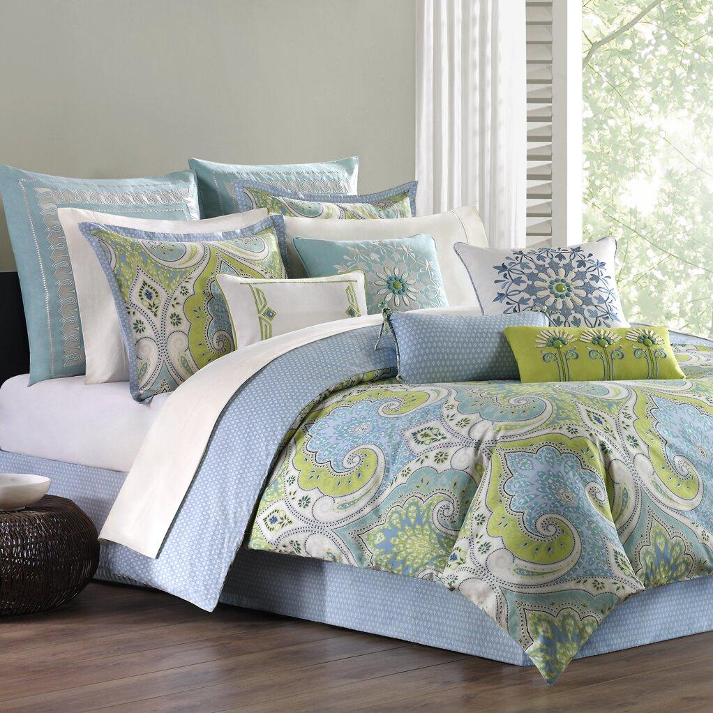 Echo Design Sardinia 4 Piece Reversible Comforter Set