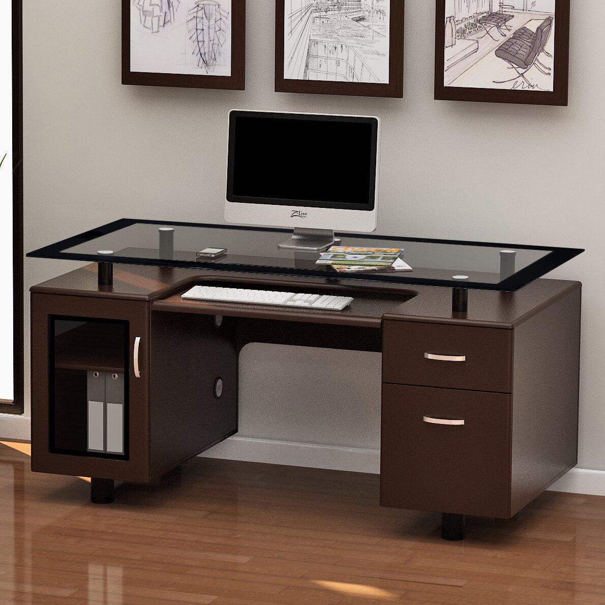 Z-Line Designs Arria Executive Desk & Reviews | Wayfair