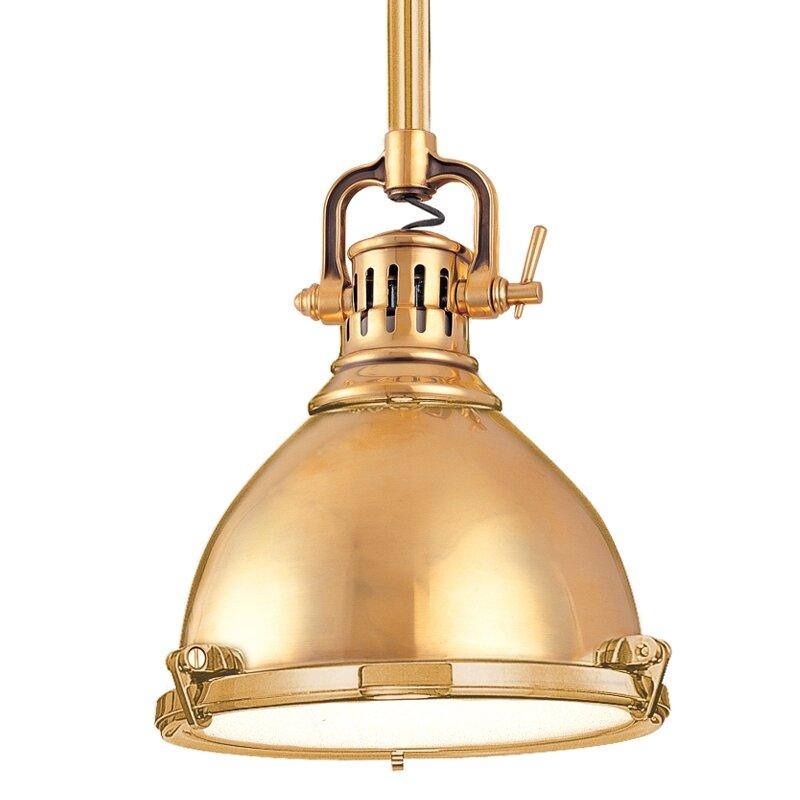 Hudson Valley Lighting Pelham 1 Light Mini Pendant