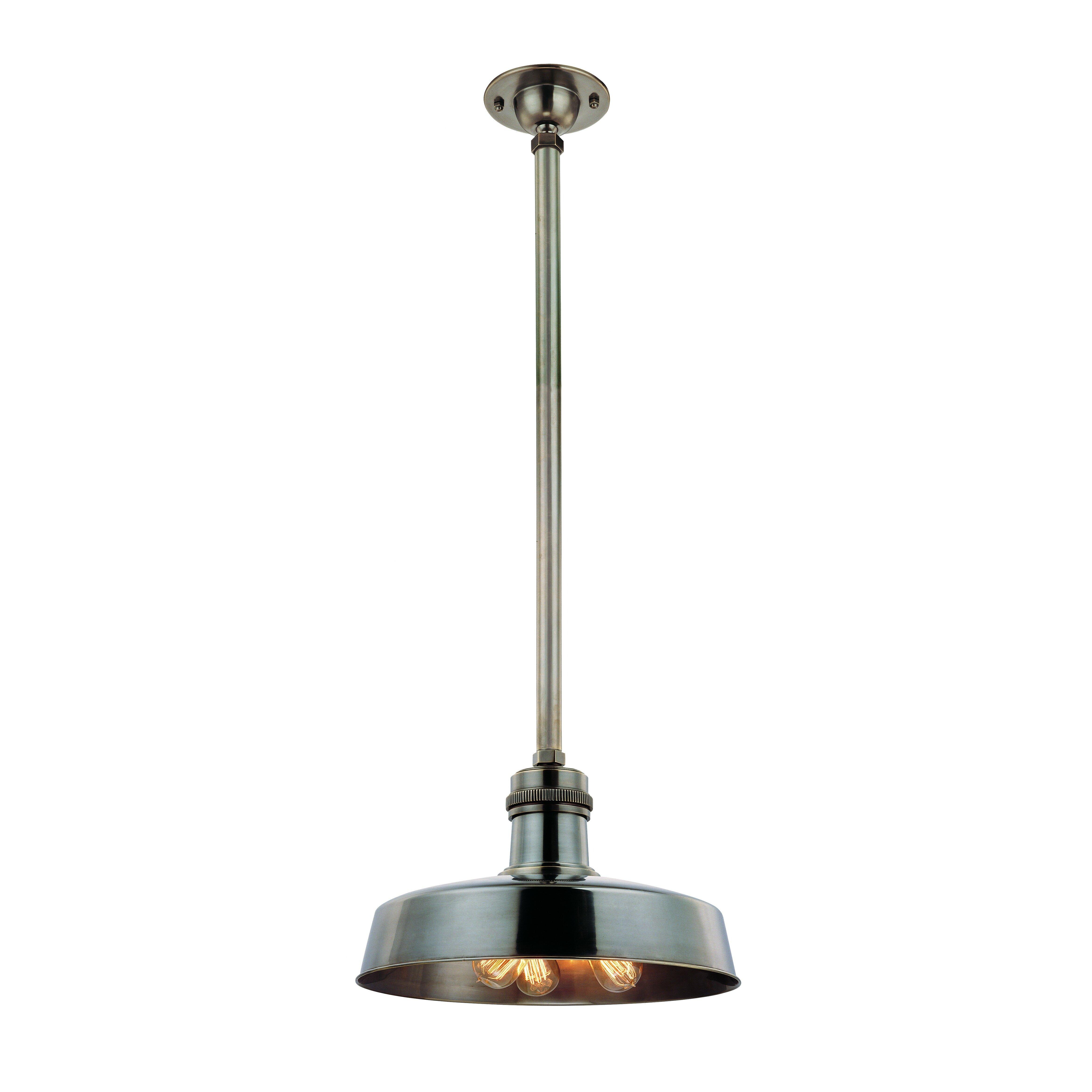 hudson valley lighting hudson falls 3 light pendant wayfair