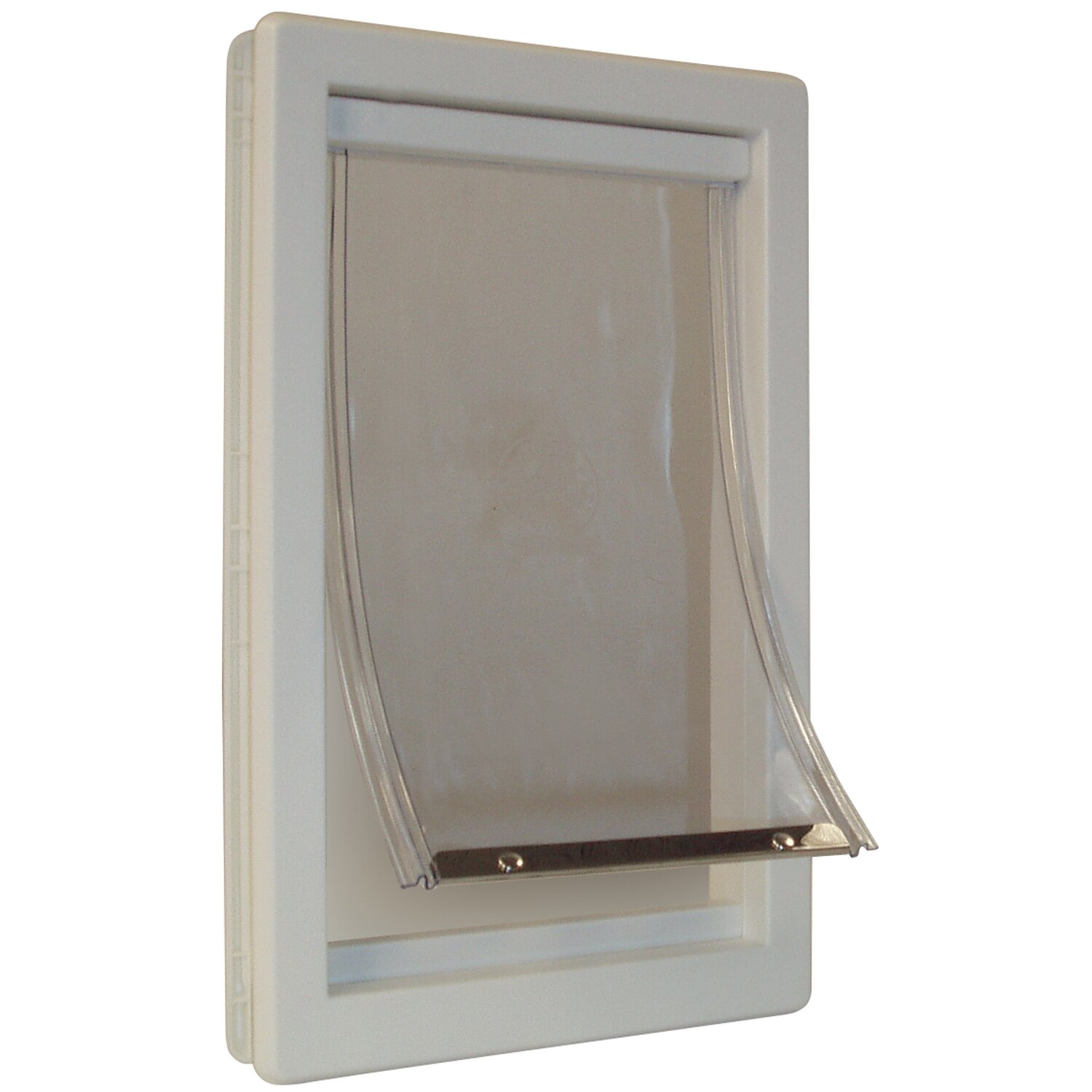Ideal pet products thermoplastic pet door reviews wayfair for Ideal pet doors