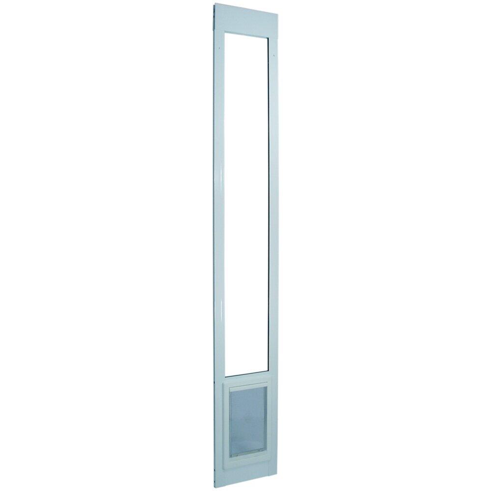 Ideal pet products medium tall pet door reviews wayfair for Ideal dog door
