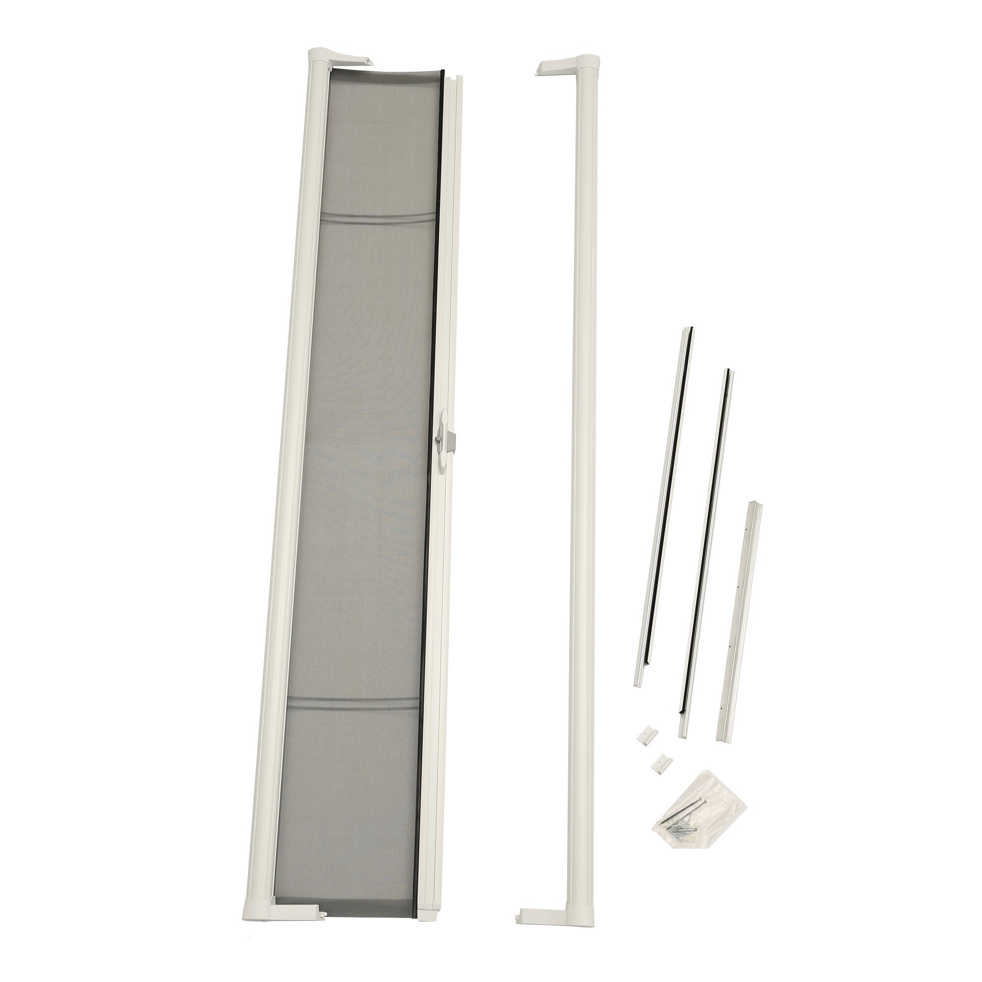 Zabitat brisa retractable screen door reviews for Best rated retractable screen doors