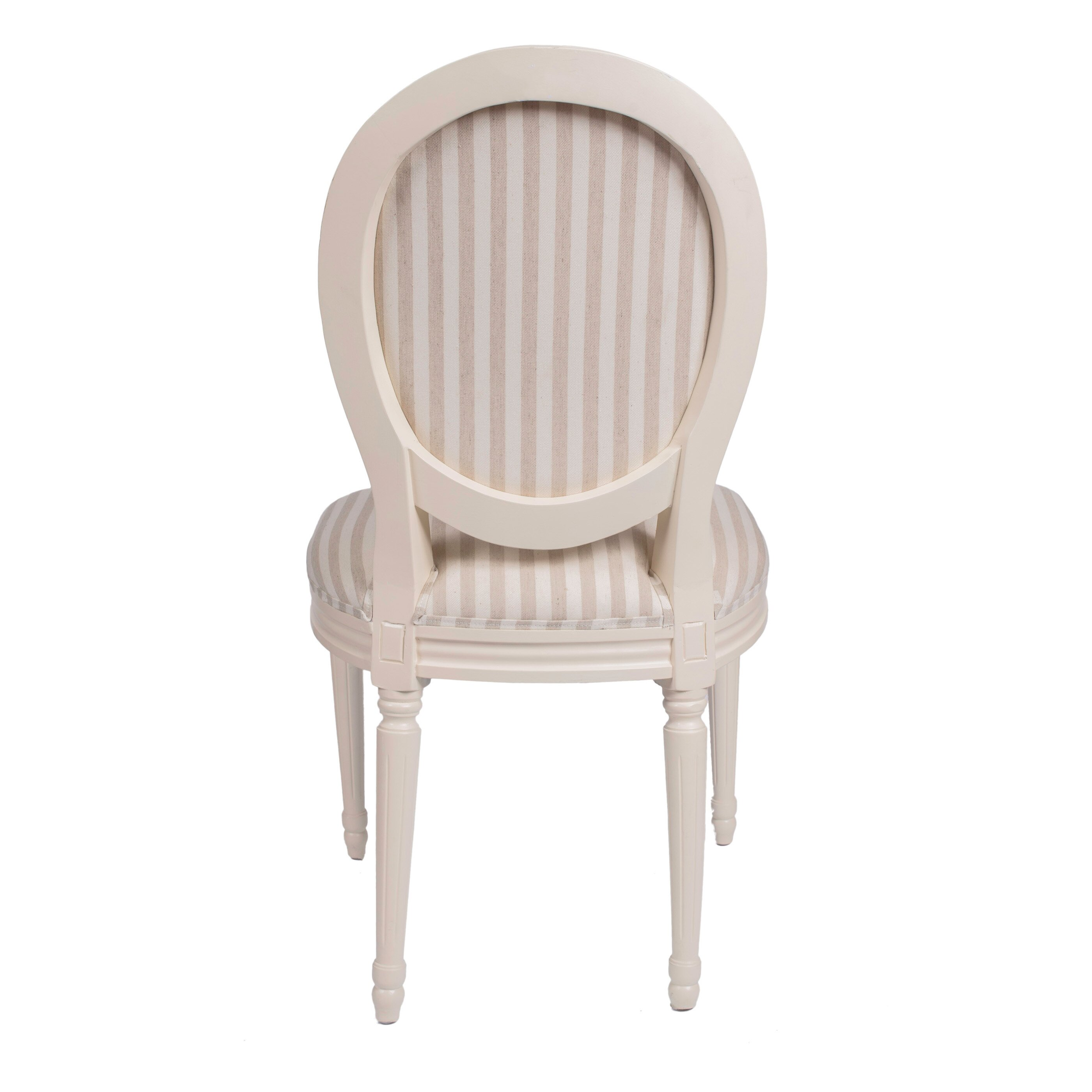 Derry s Louis Round Back Striped Dining Chair & Reviews