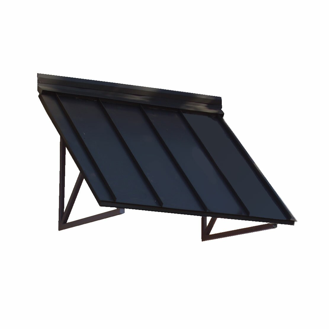 Awntech Houstonian Standing Seam Slope Awning & Reviews