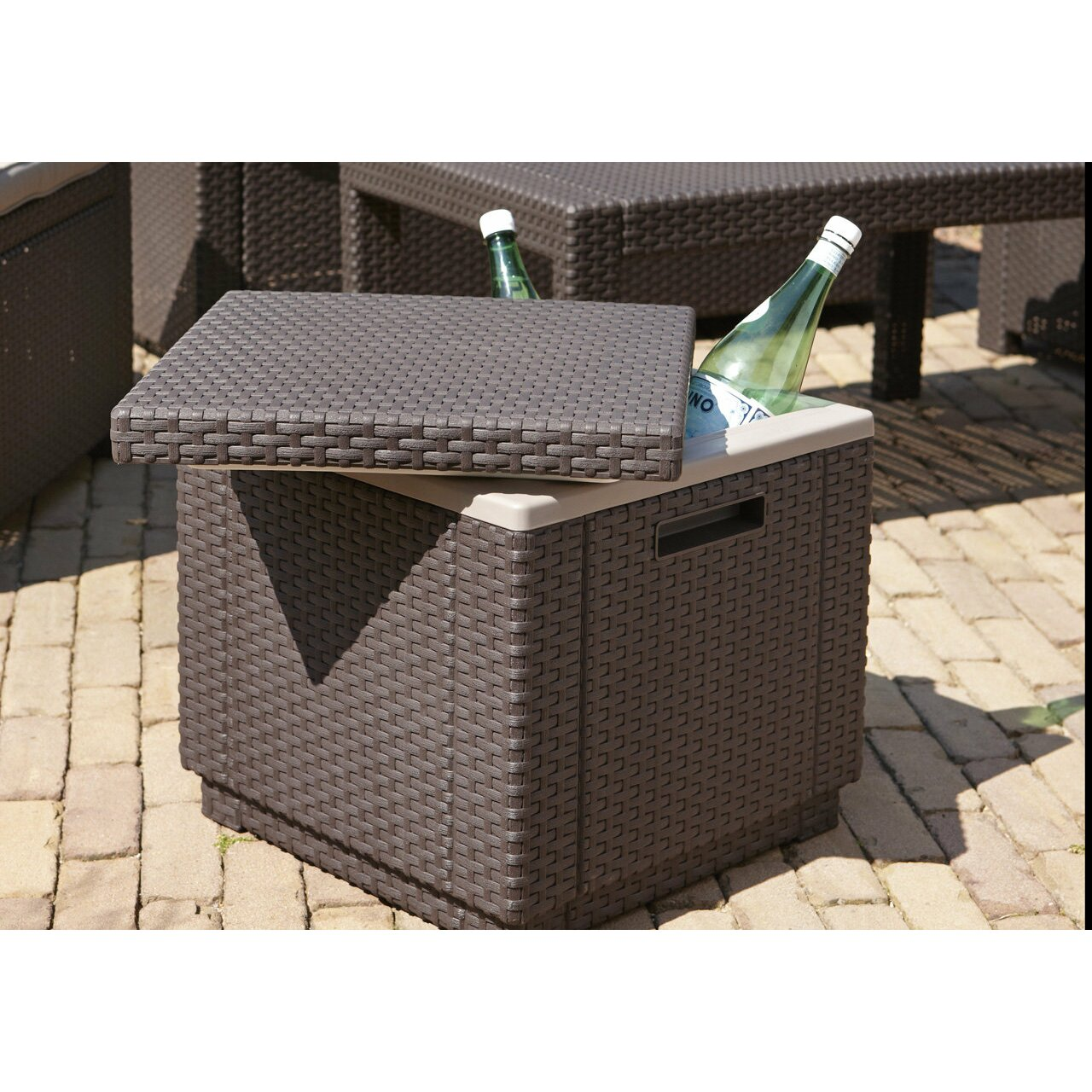 SunTime Outdoor Living Ice Cube Cooler & Reviews | Wayfair on Suntime Outdoor Living id=48826