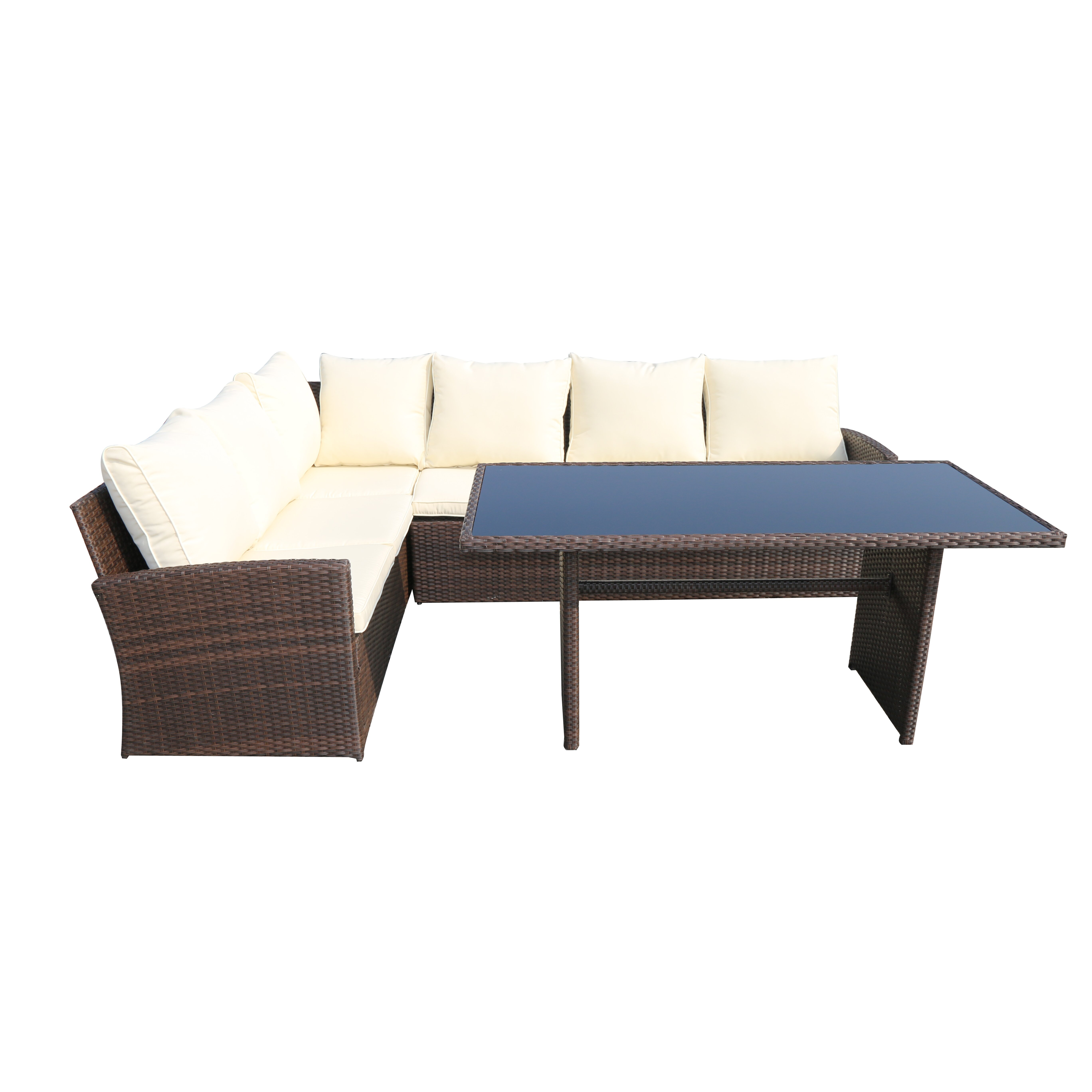 SunTime Outdoor Living Barcelona 3 Piece Seating Group ... on Suntime Outdoor Living id=76267