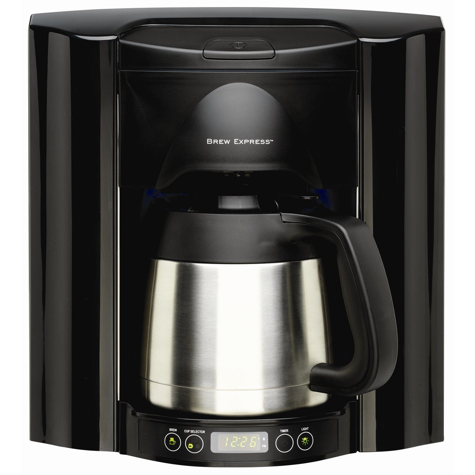 Best Coffee Maker Under Usd 40 : Brew Express 10 Cup Built-In Self-Filling Coffee and Hot Beverage System & Reviews Wayfair