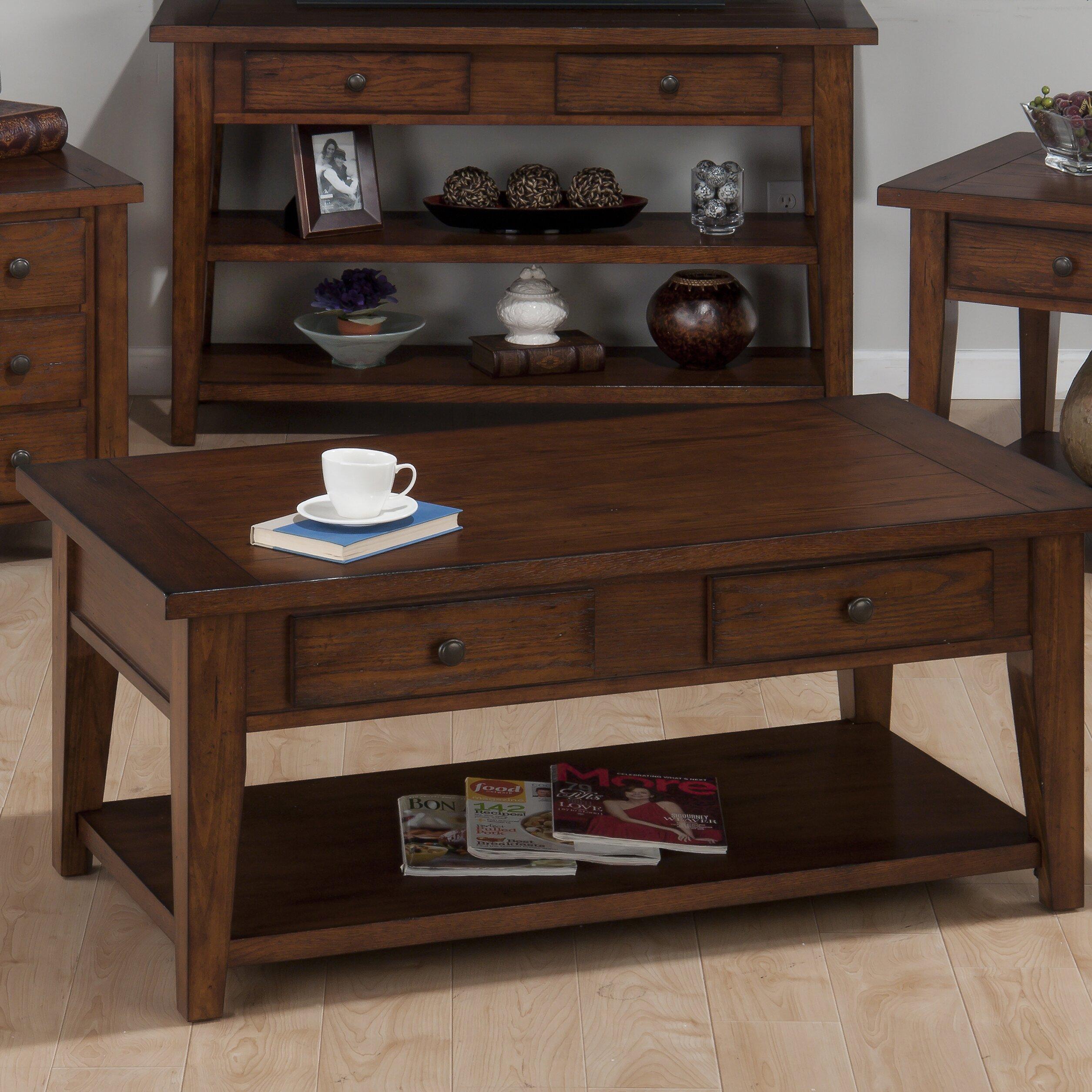 Jofran Clay County Coffee Table Reviews Wayfair