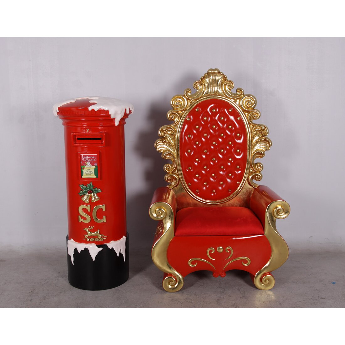 Queens Of Christmas Polyresin Mail Box Christmas