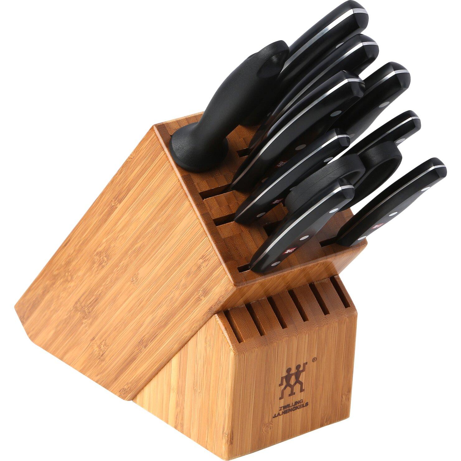 Zwilling Ja Henckels Twin Signature 11 Piece Knife Block